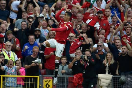 Криштиану Роналду вышел в старте в первом матче за «Манчестер Юнайтед» и сделал дубль