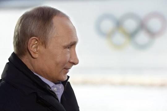 Россия оспорит запрет Путину посещать Олимпийские игры и чемпионаты мира