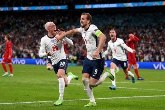 Сборная Англии стала вторым финалистом Евро-2020: 11 июля она сыграет с командой Италии