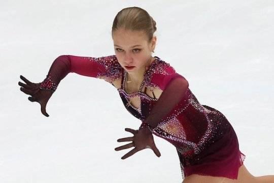 Трусова осталась недовольна выступлением на чемпионате мира в Стокгольме