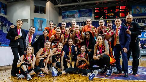 УГМК взял всё // Екатеринбургские баскетболистки в 15-й раз стали чемпионками России