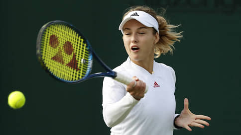 Россиянка Калинская проиграла в первом раунде Wimbledon