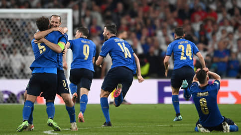 Италия стала чемпионом Европы по футболу впервые с 1968 года