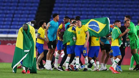 Сборная Бразилии выиграла олимпийский футбольный турнир