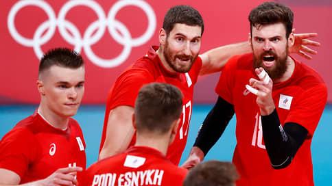 Российские волейболисты взяли серебро Олимпиады