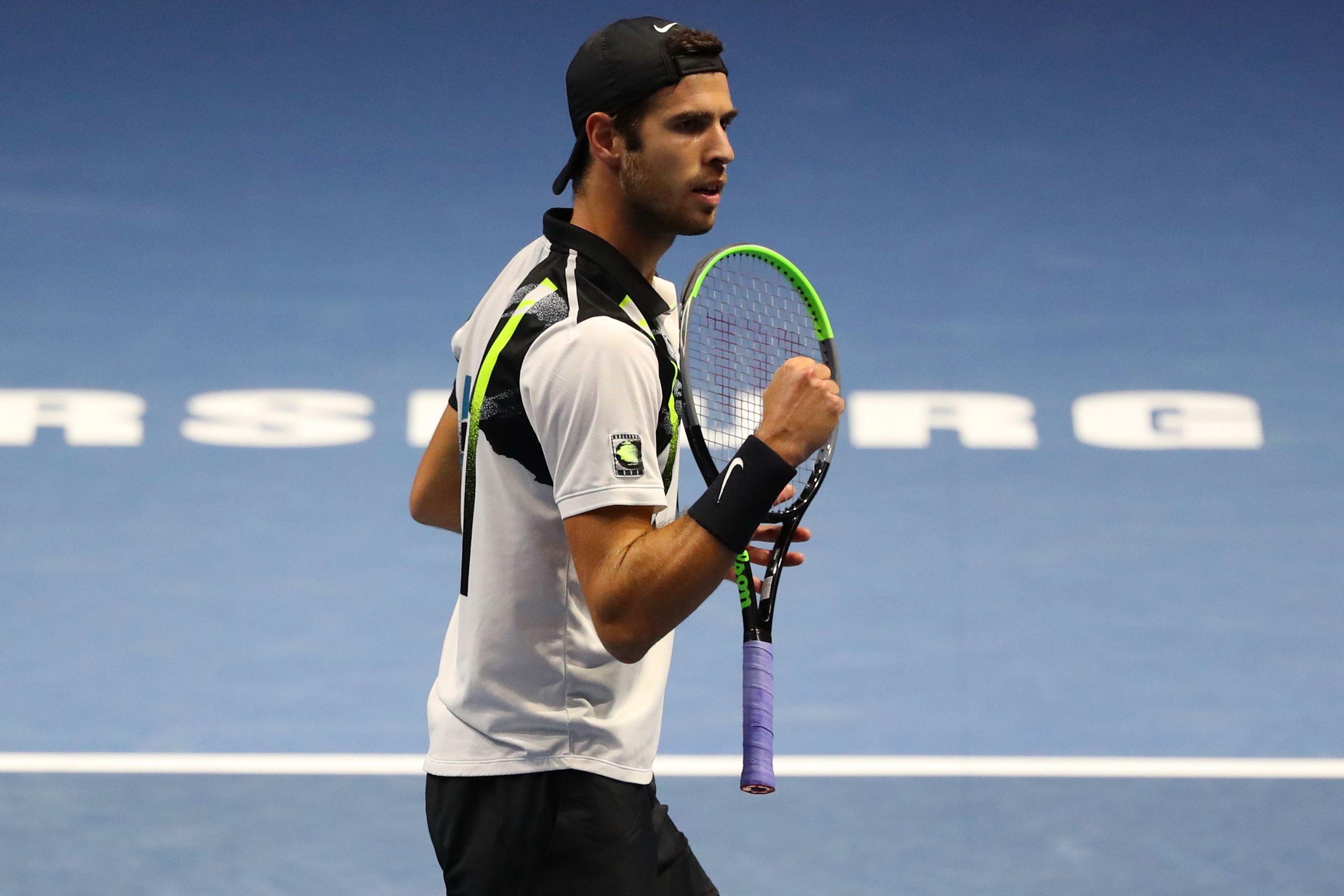 Теннис, ATP, Вена, первый круг, Хачанов - Димитров, прямая текстовая онлайн трансляция