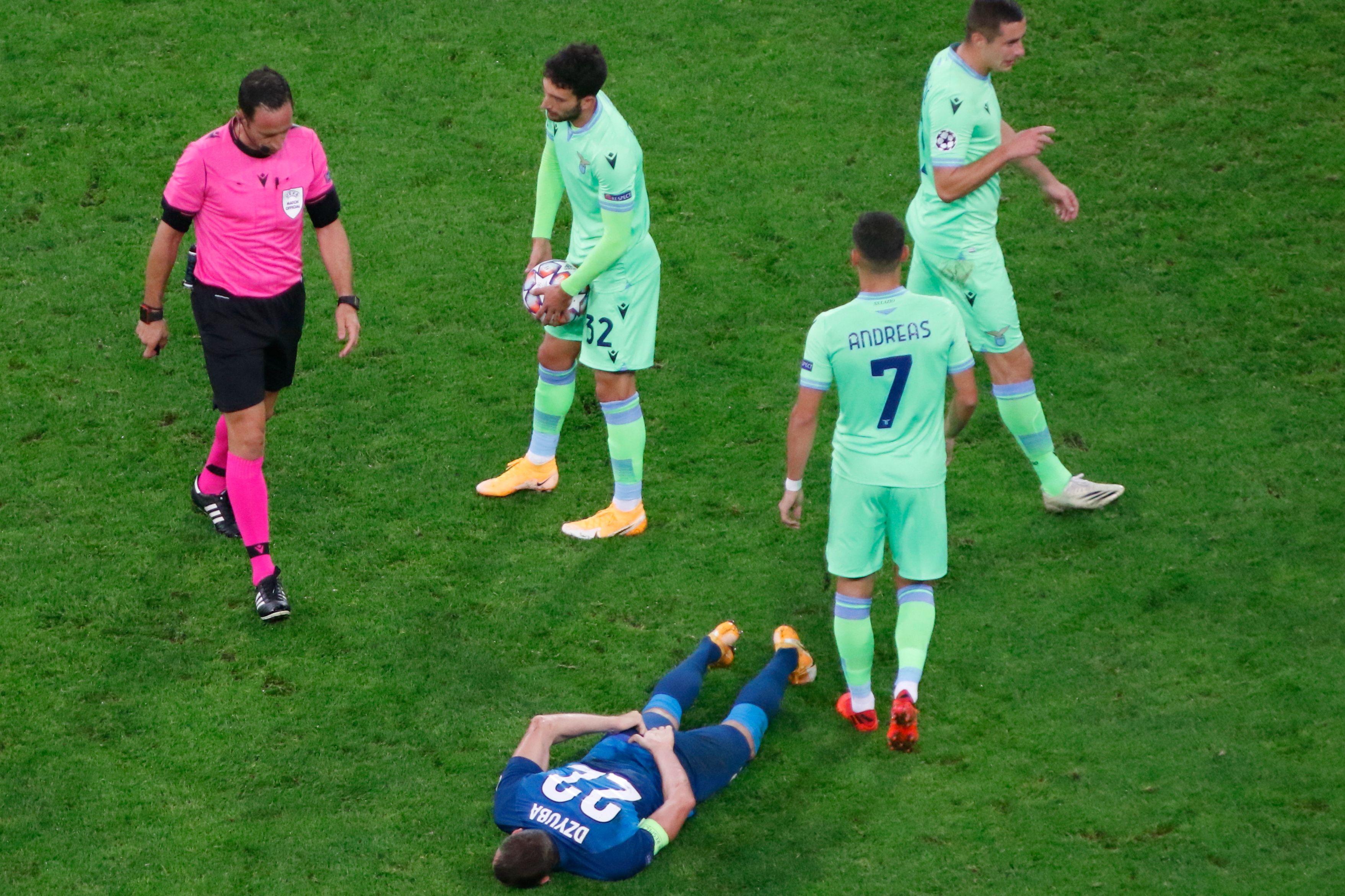 Болельщики 'Лацио' - о матче в Санкт-Петербурге: 'Жалко 'Зенит'. Они не должны быть последними в группе'