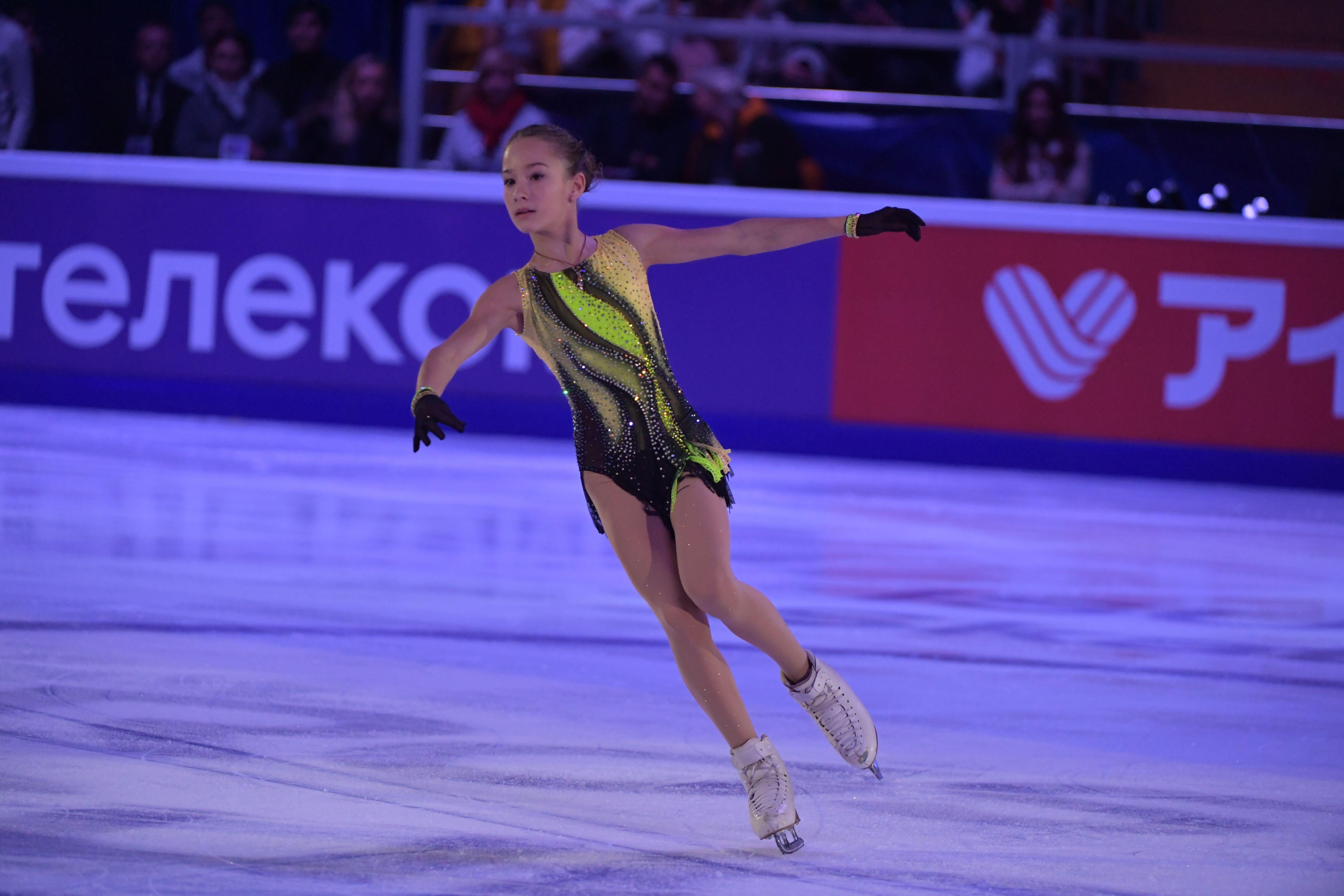 Акатьева выиграла короткую программу на этапе Кубка России в Казани