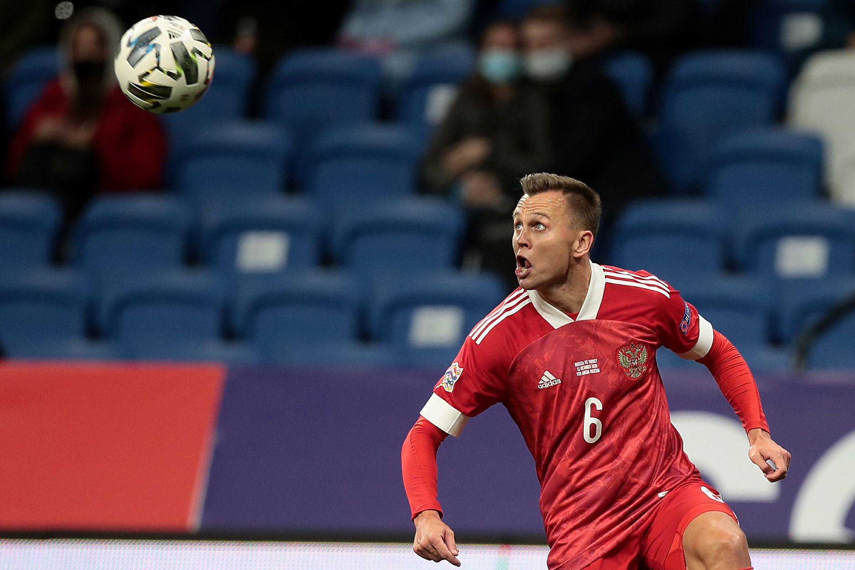 Черышев: 'Пенальти в ворота сборной России был назначен ошибочно'
