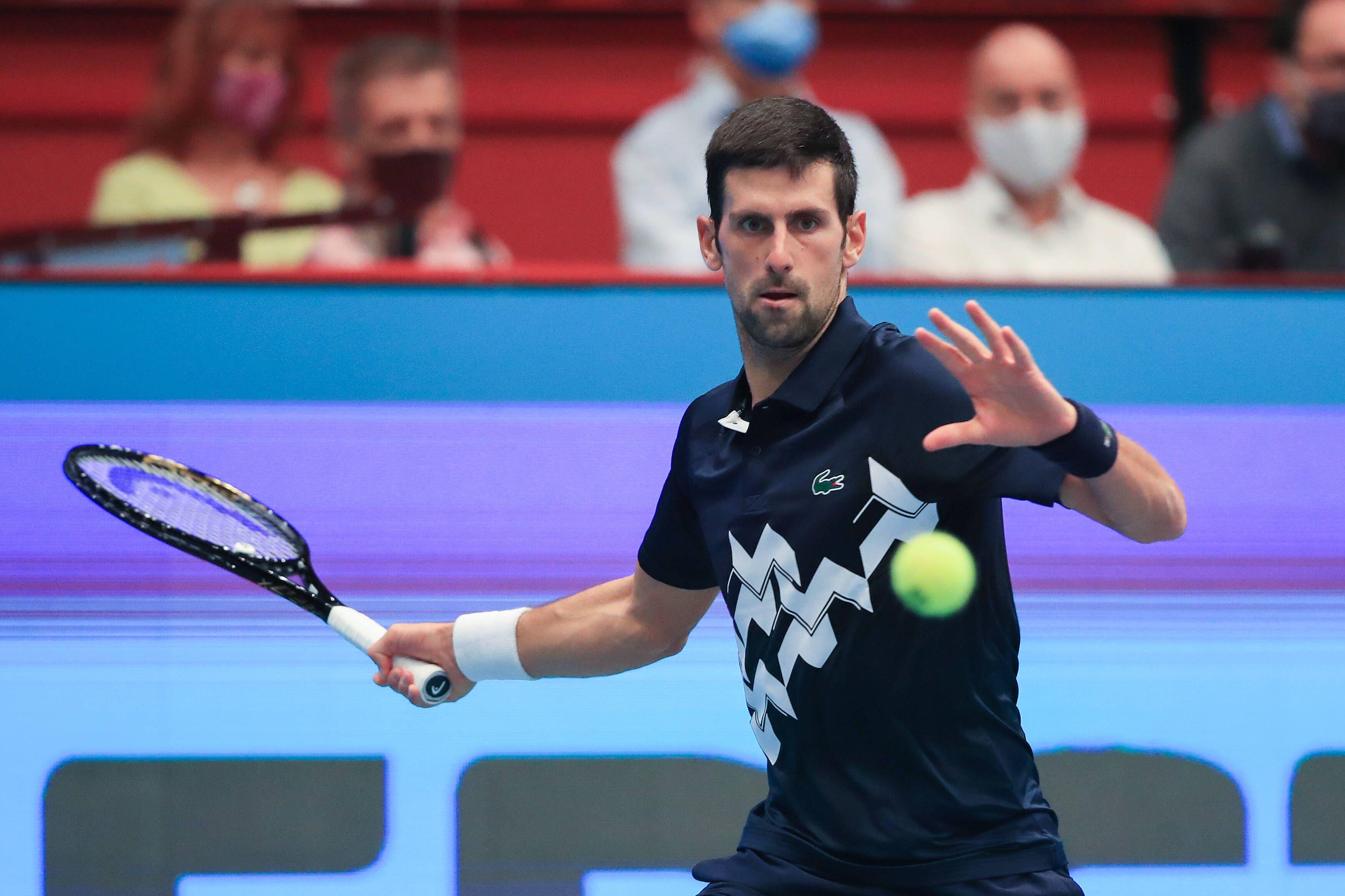 Теннис, Итоговый турнир АТР, Джокович - Шварцман, прямая текстовая онлайн трансляция