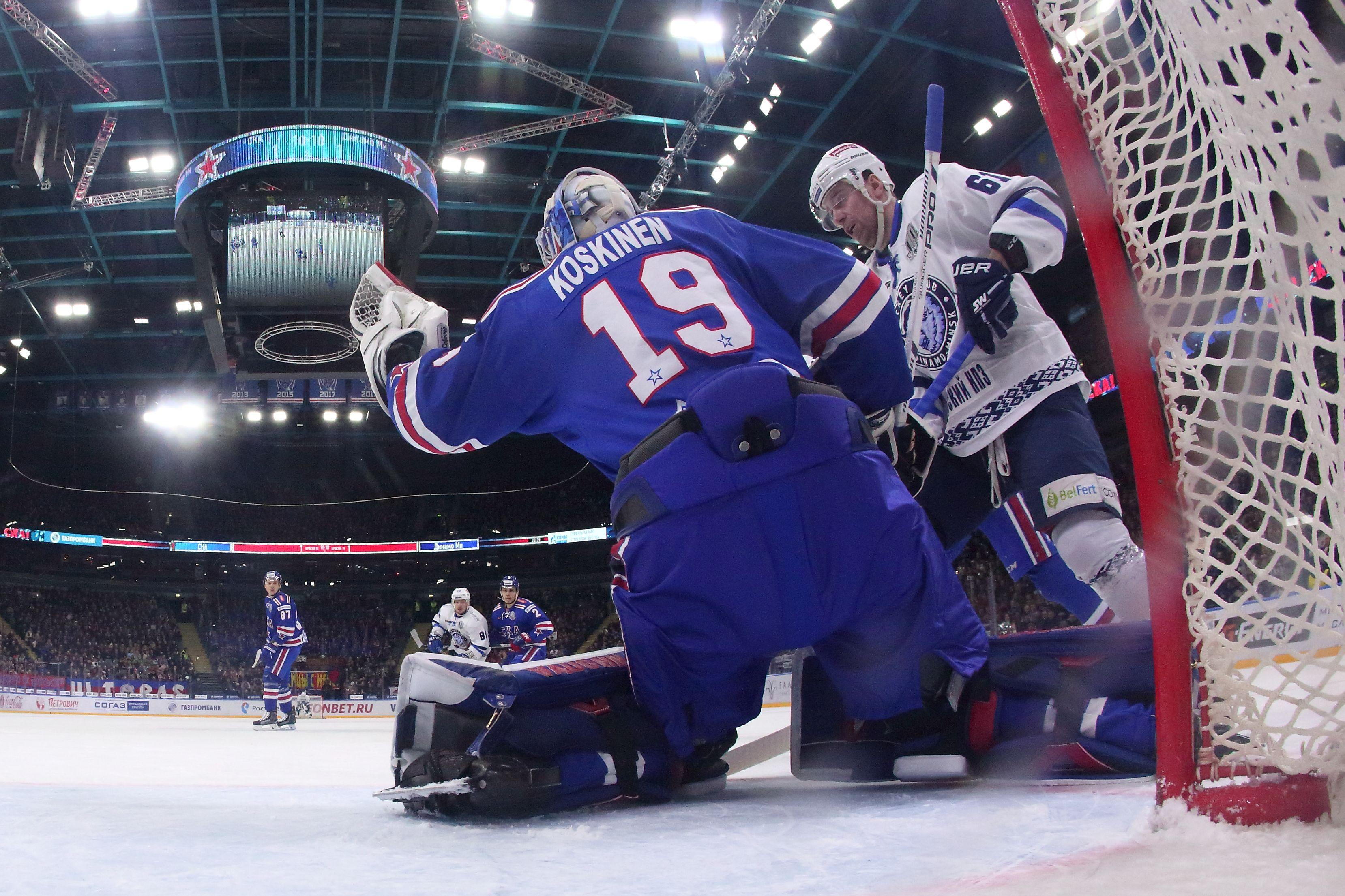 Главе Федерации хоккея Белоруссии запретили въезд в Латвию