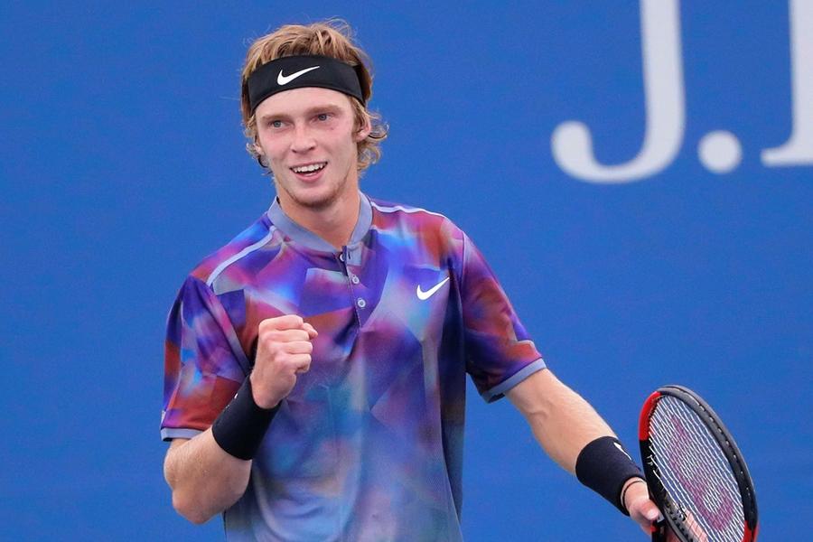 Теннис, Итоговый турнир АТР, Рублёв - Циципас, Прямая текстовая онлайн трансляция