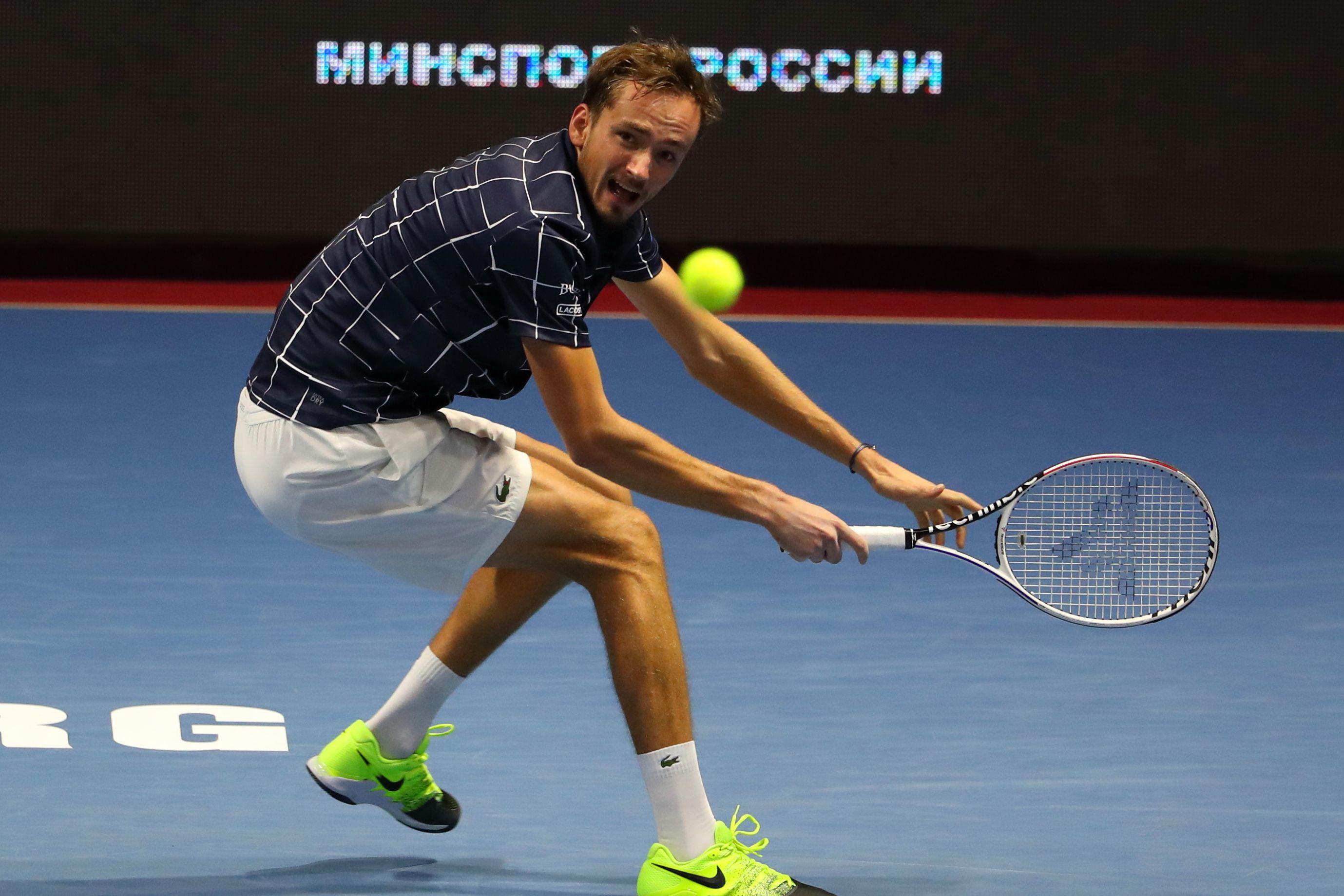 Медведев - второй в истории России теннисист, выигравший Итоговый чемпионат ATP