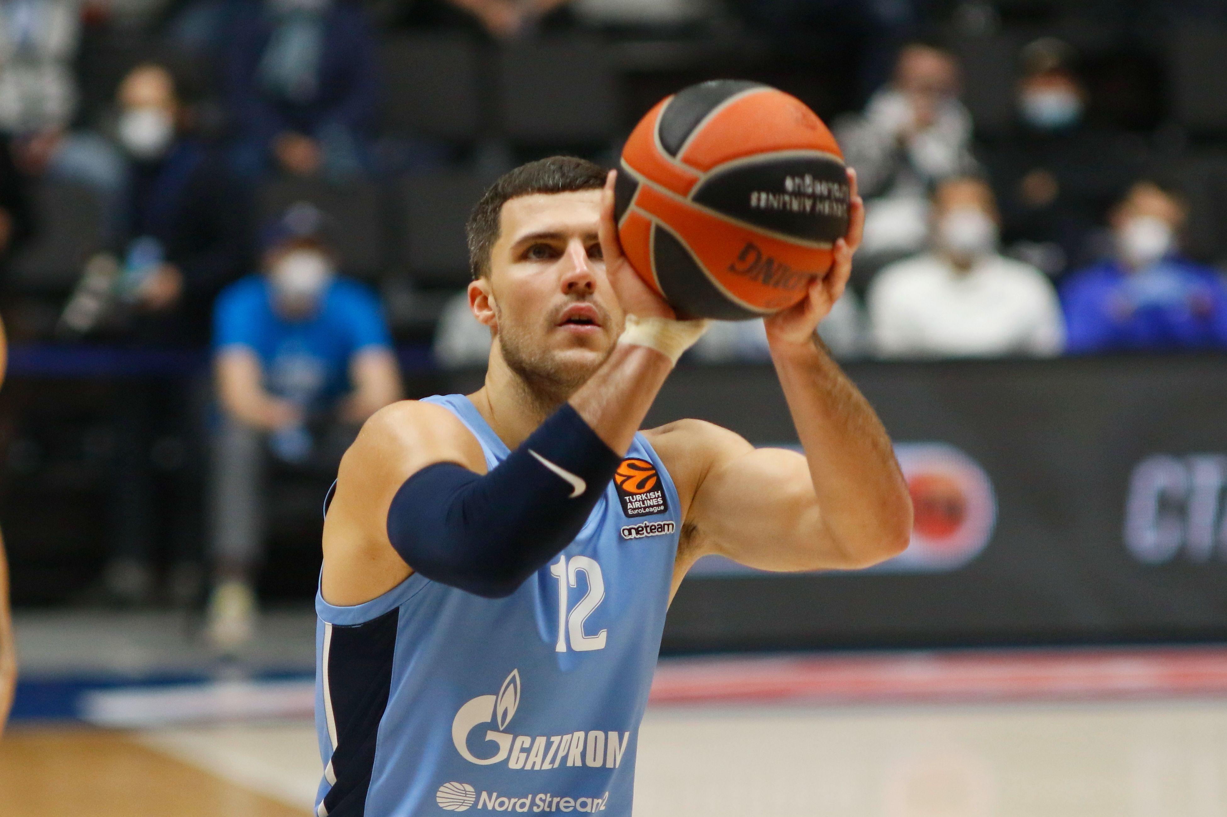 Баскетбол, Евролига, Баскония - Зенит, прямая текстовая онлайн трансляция