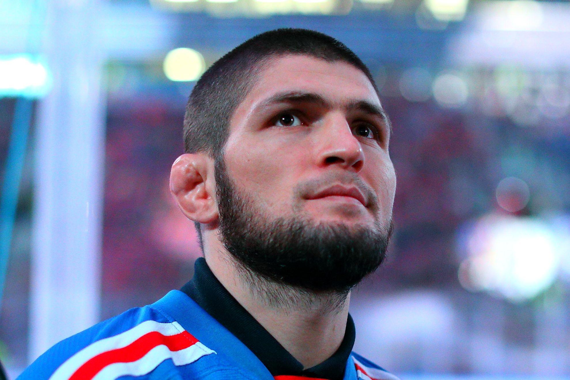 Хабиб оставил загадочное послание главе UFC