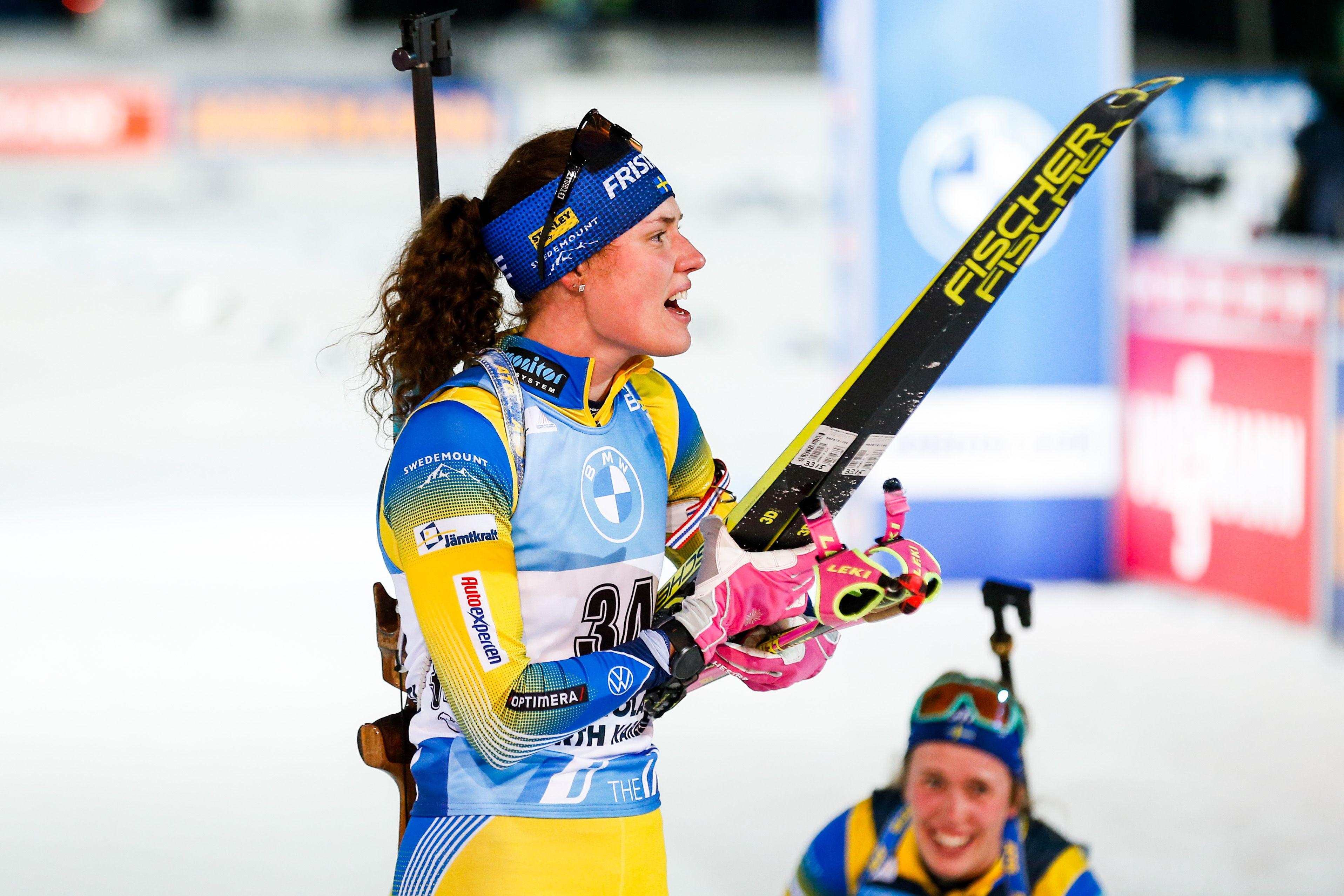 Х. Оберг выиграла спринт в Контиолахти. Все результаты