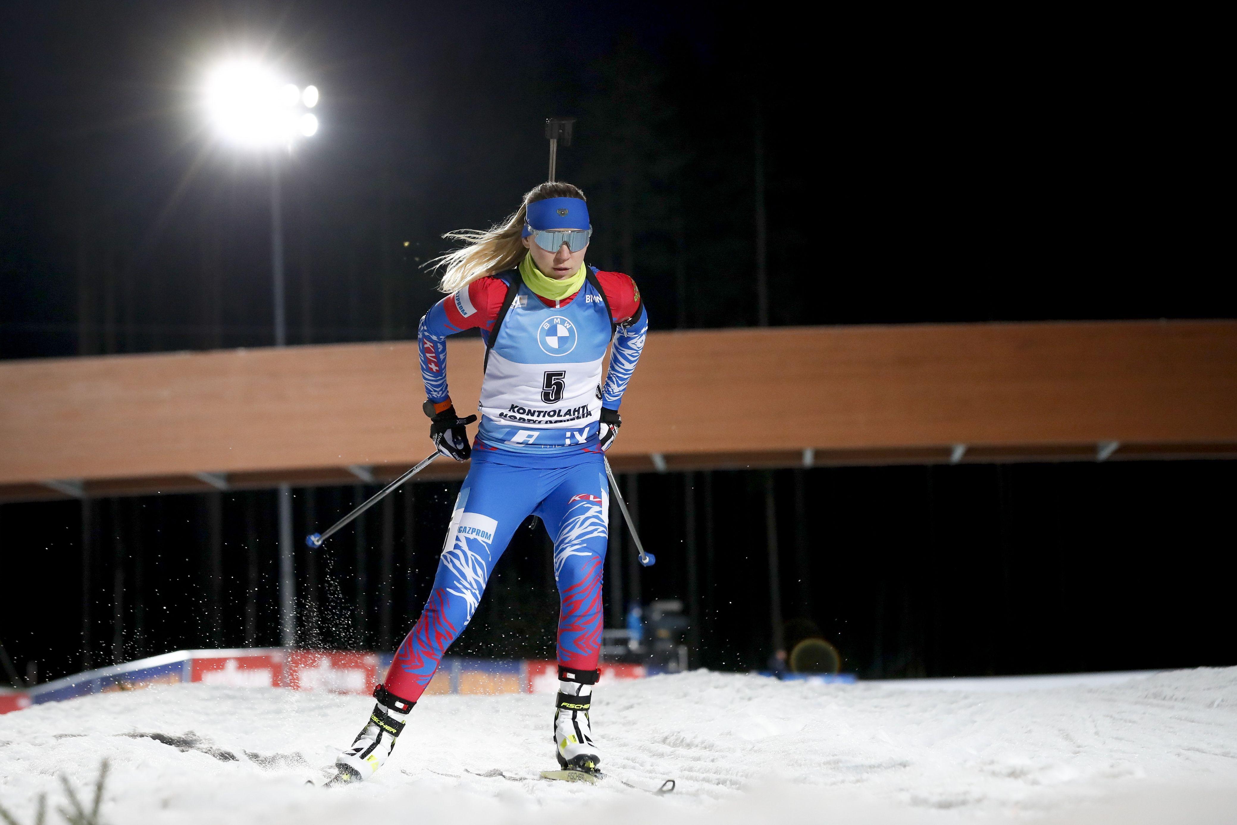 Биатлонистка Павлова: 'Очень тяжёлая ситуация в команде, нет массажистов, докторов'