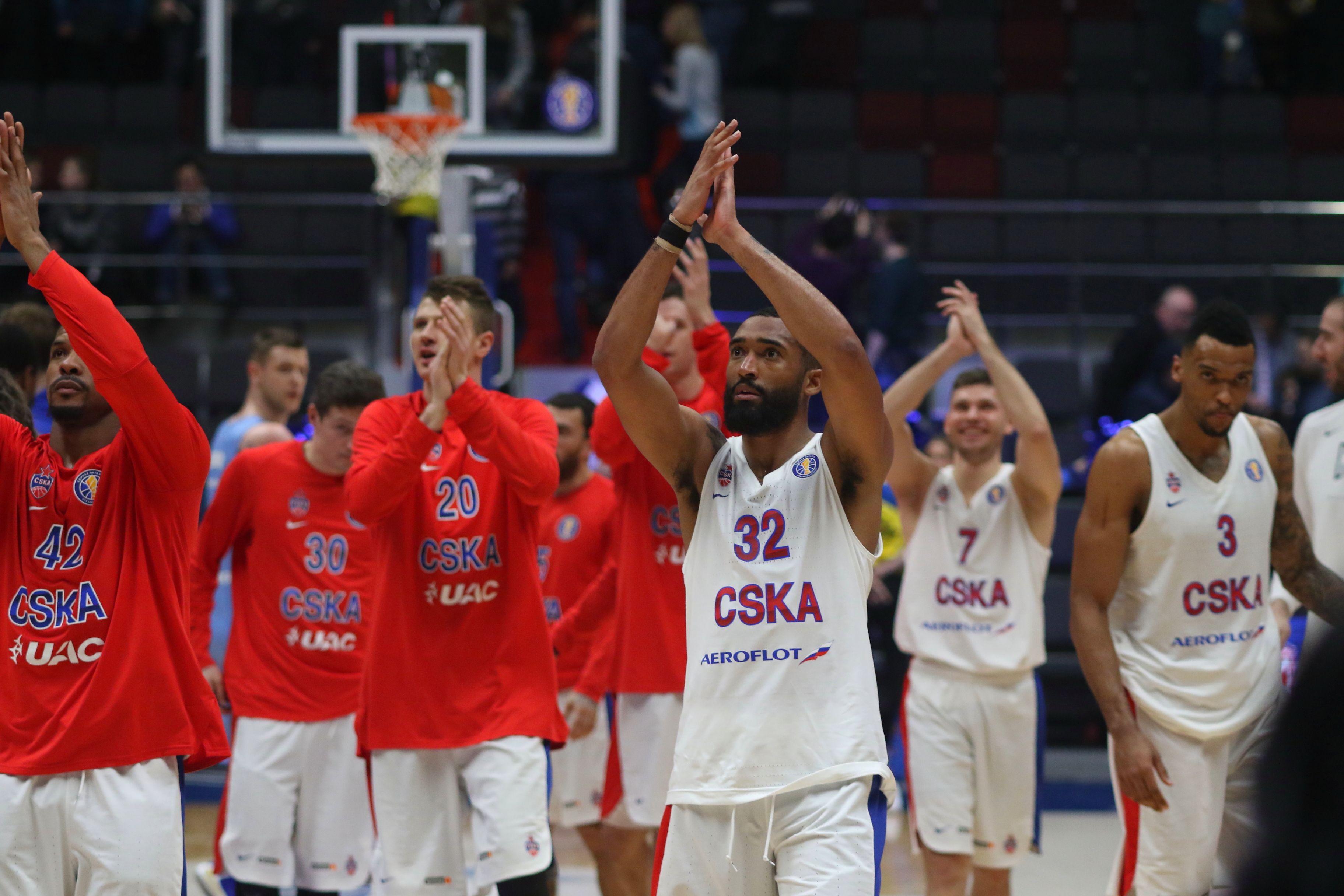 Баскетбол, Евролига, Химки - ЦСКА, прямая текстовая онлайн трансляция