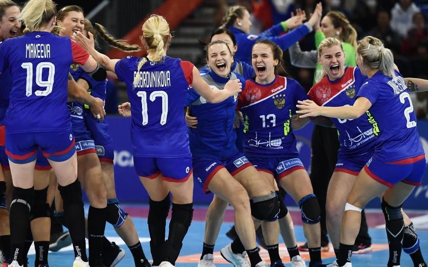 Гандбол, Евро-2020, женщины, Россия - Дания, Прямая текстовая онлайн трансляция