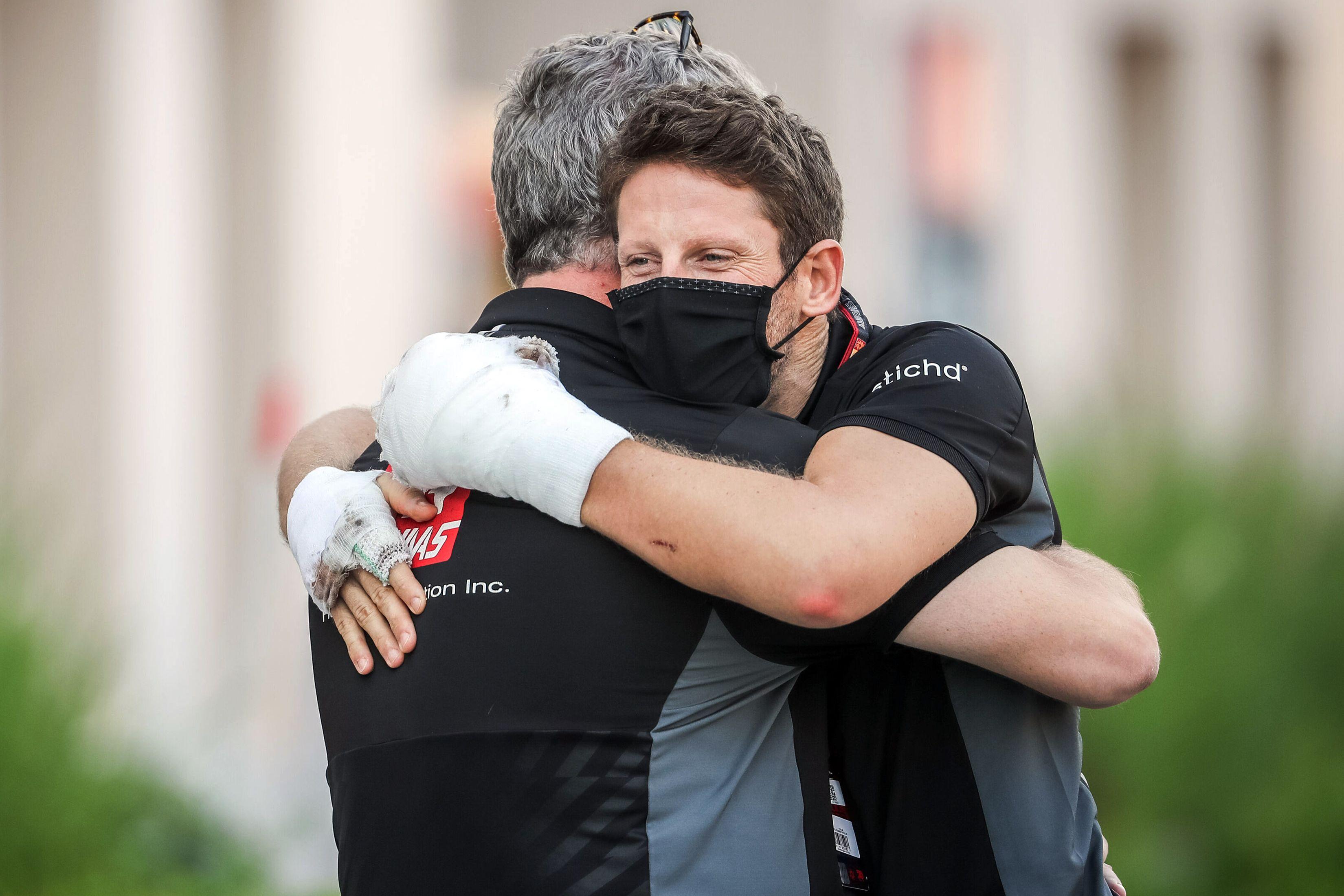 Грожану придётся перенести операцию из-за аварии на Гран-при Бахрейна
