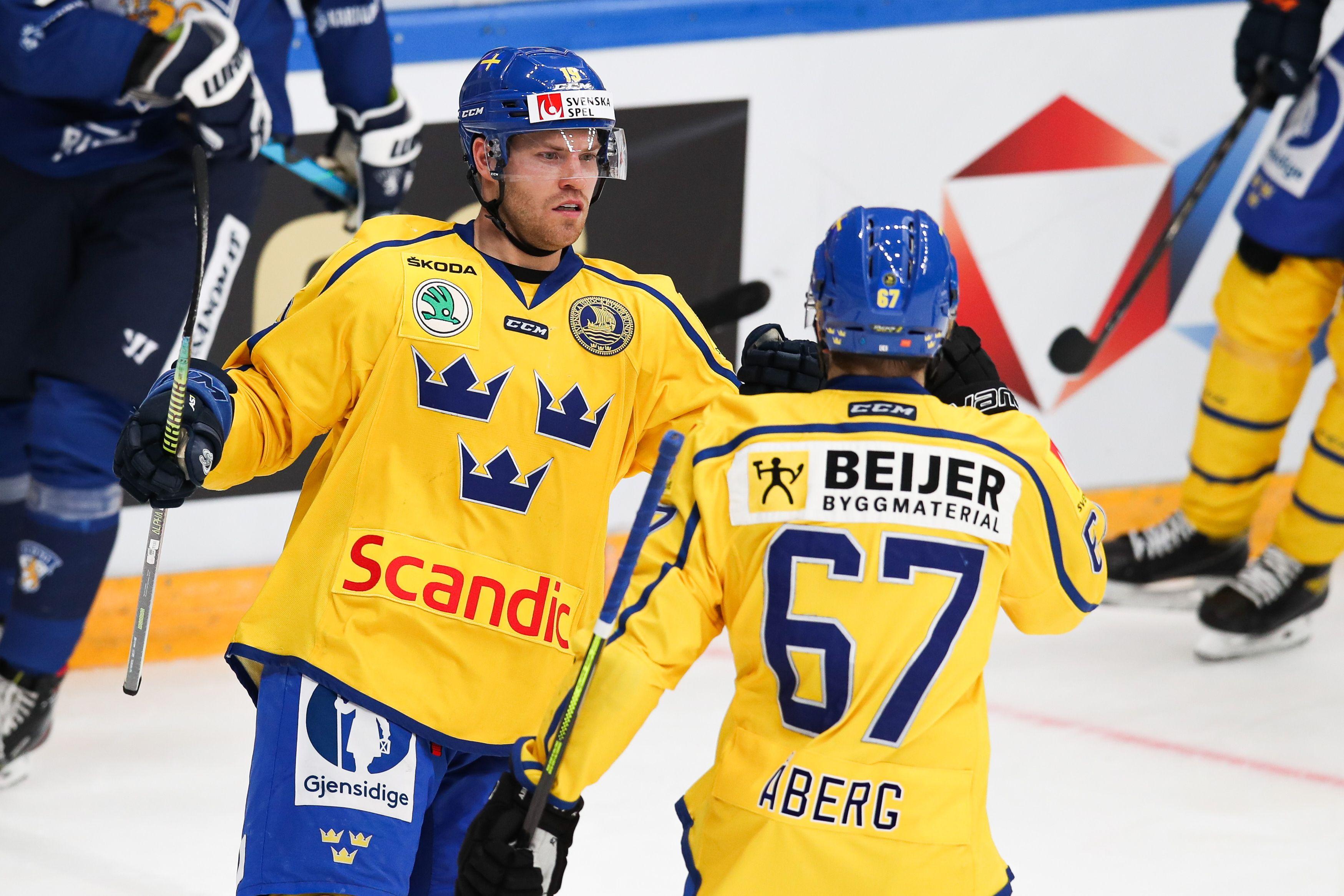 Дубль Линдберга принёс сборной Швеции победу над Финляндией на Кубке Первого канала