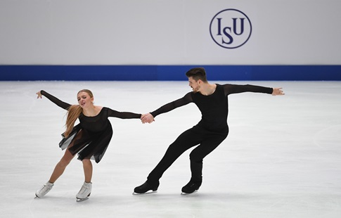 Фигурное катание, Чемпионат России, Танцы на льду, Произвольный танец, Прямая текстовая онлайн трансляция