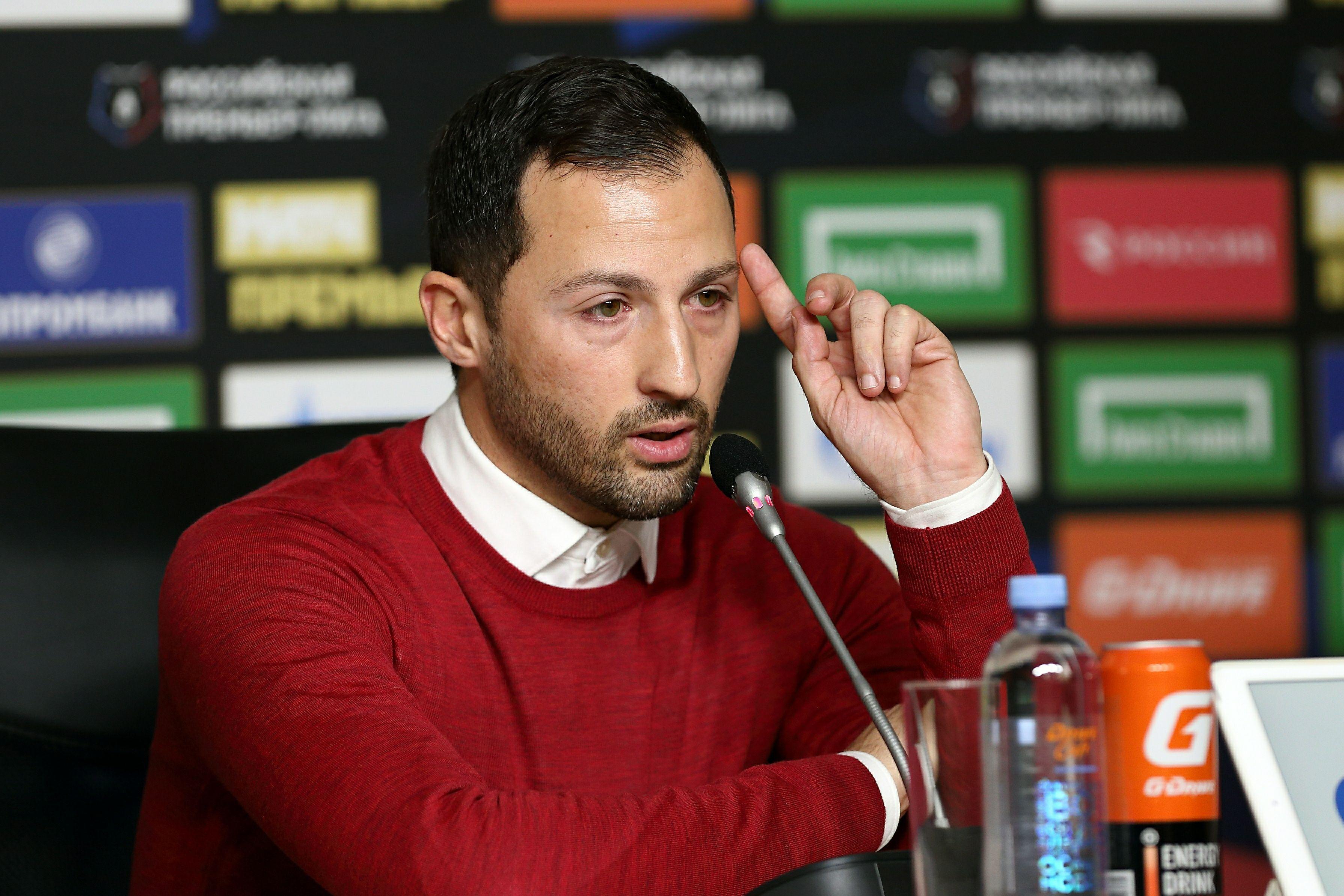 Тедеско отреагировал на желание 'Спартака' продолжить сотрудничество до мая 2021 года