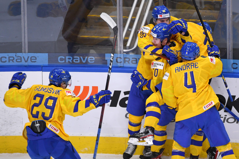Хоккей, МЧМ-2021, Швеция - США, прямая текстовая онлайн трансляция