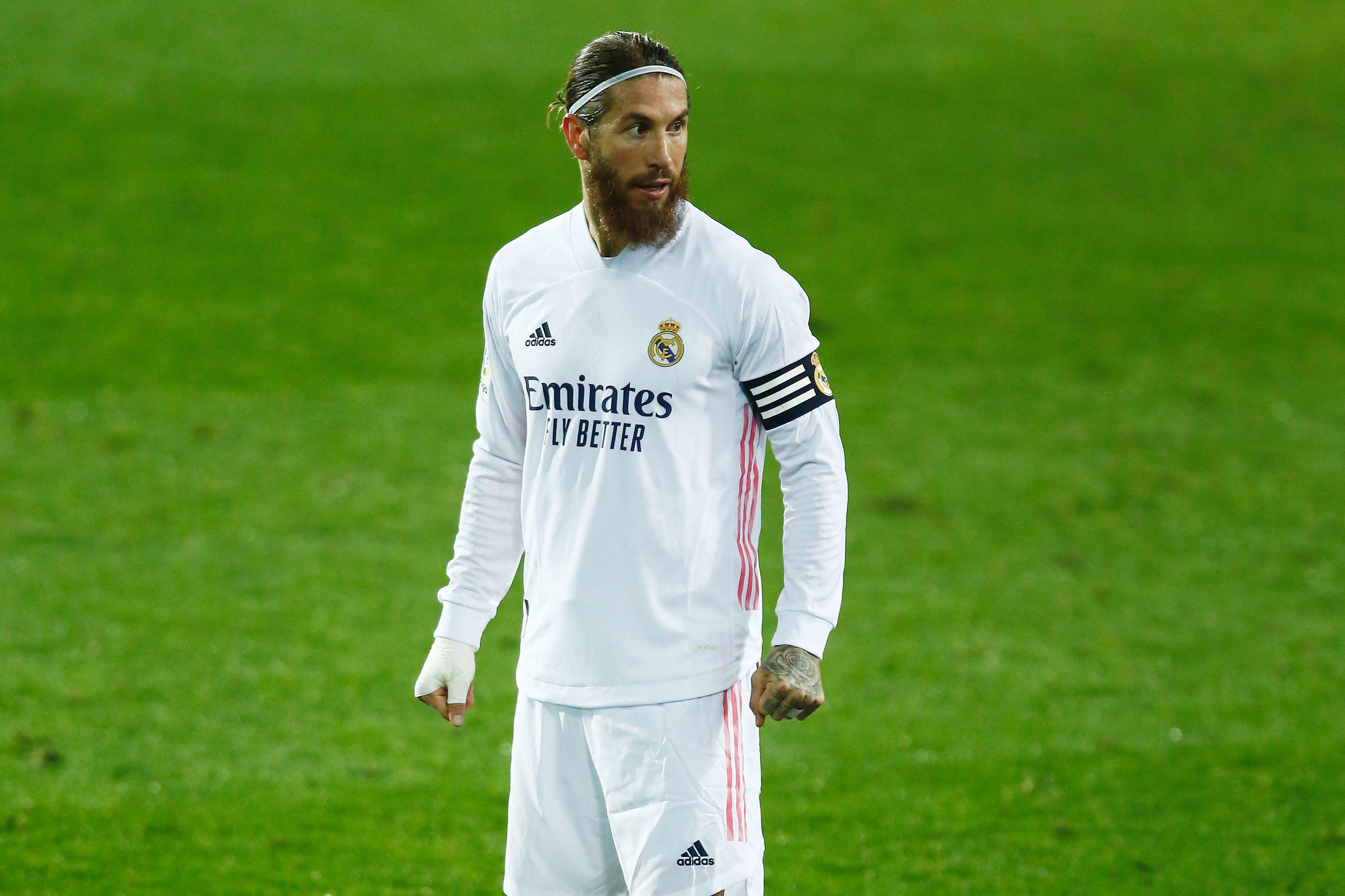 'Манчестер Сити' попытается перехватить Серхио Рамоса у 'Реала'