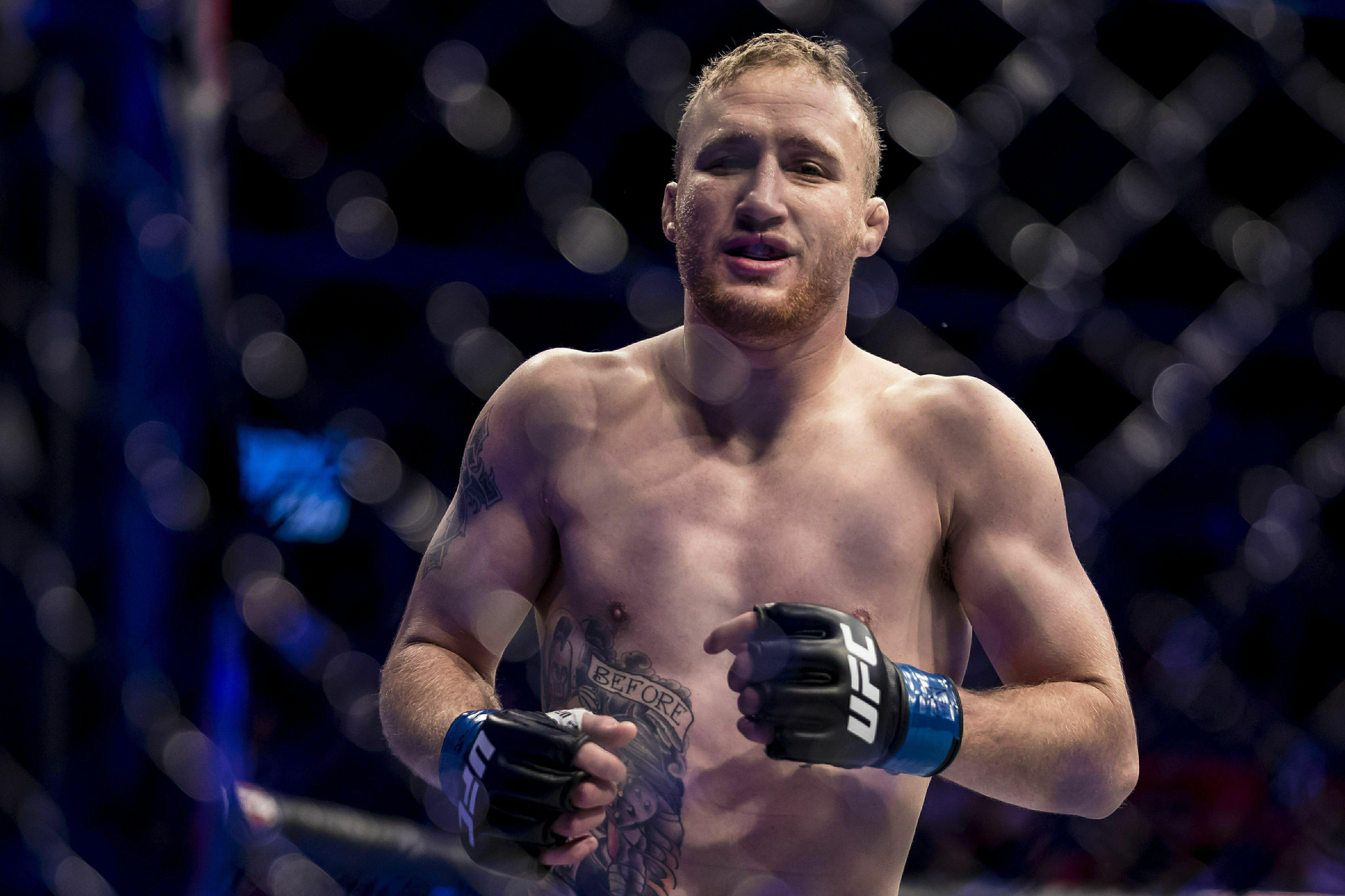 В UFC назвали имя следующего противника Джастина Гэтжи