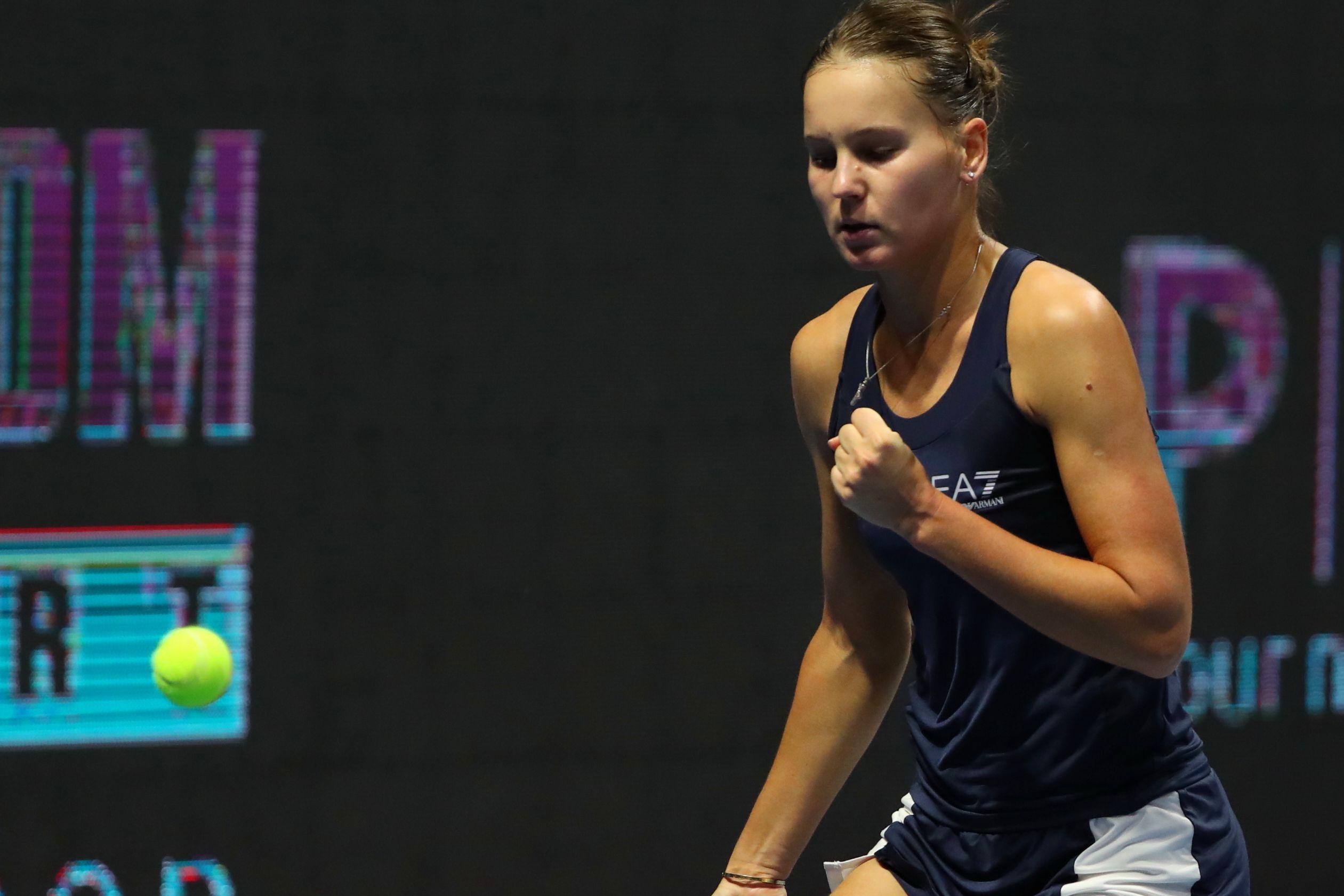 Кудерметова - о финале турнира в Абу-Даби: 'Думаю, на Соболенко будет чуть больше давления, чем на меня'