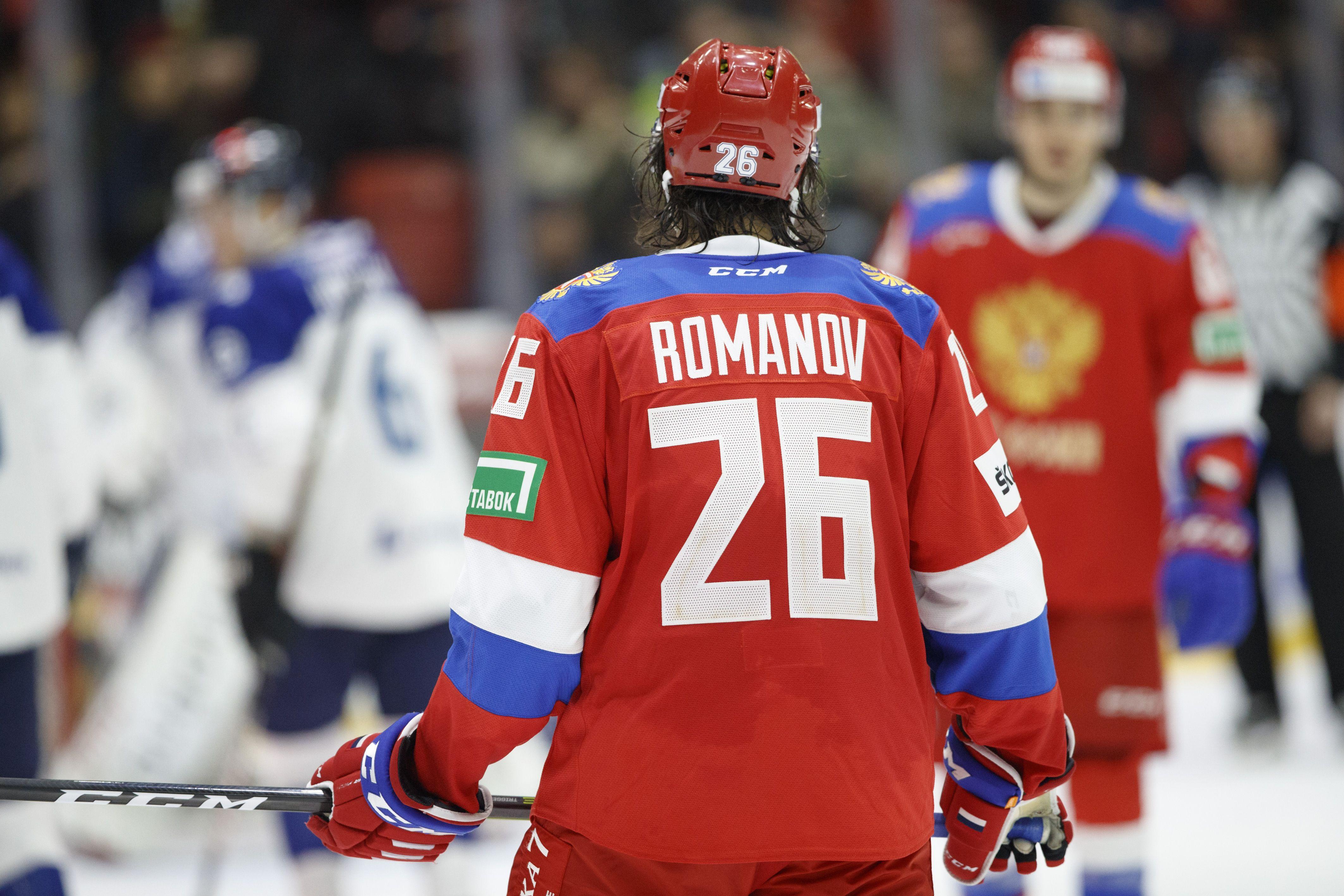 В Канаде оценили уверенное выступление Романова в дебютной игре в НХЛ