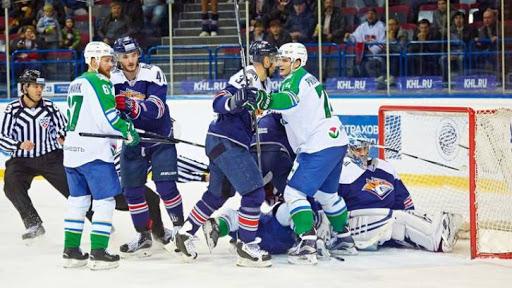 Хоккей, КХЛ, Металлург Мг - Салават Юлаев, Прямая текстовая онлайн трансляция