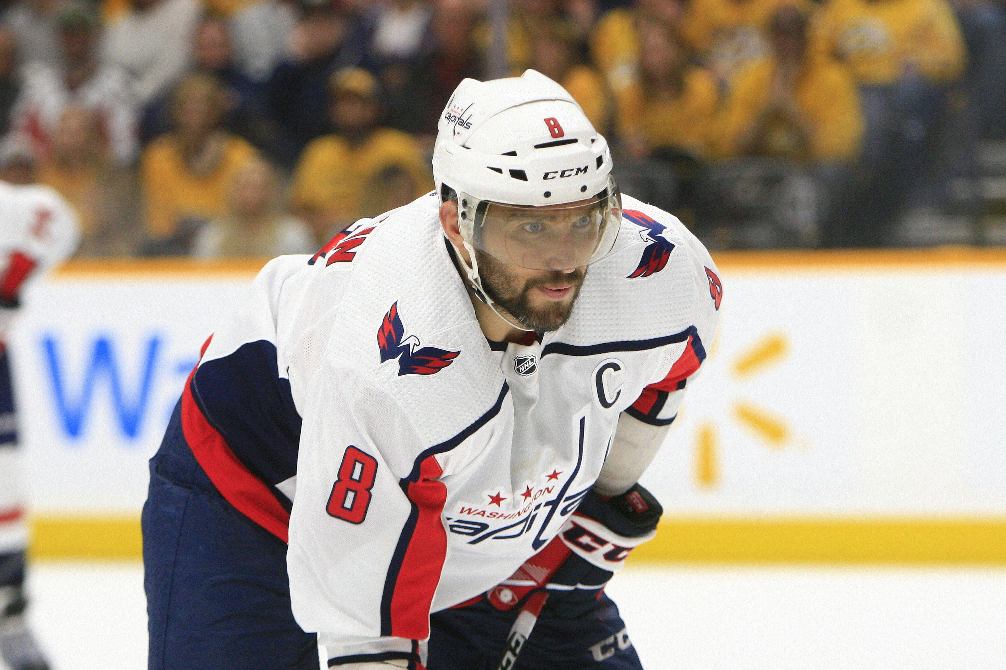 Победная шайба Овечкина в видеообзоре матча НХЛ 'Нью-Джерси' - 'Вашингтон'