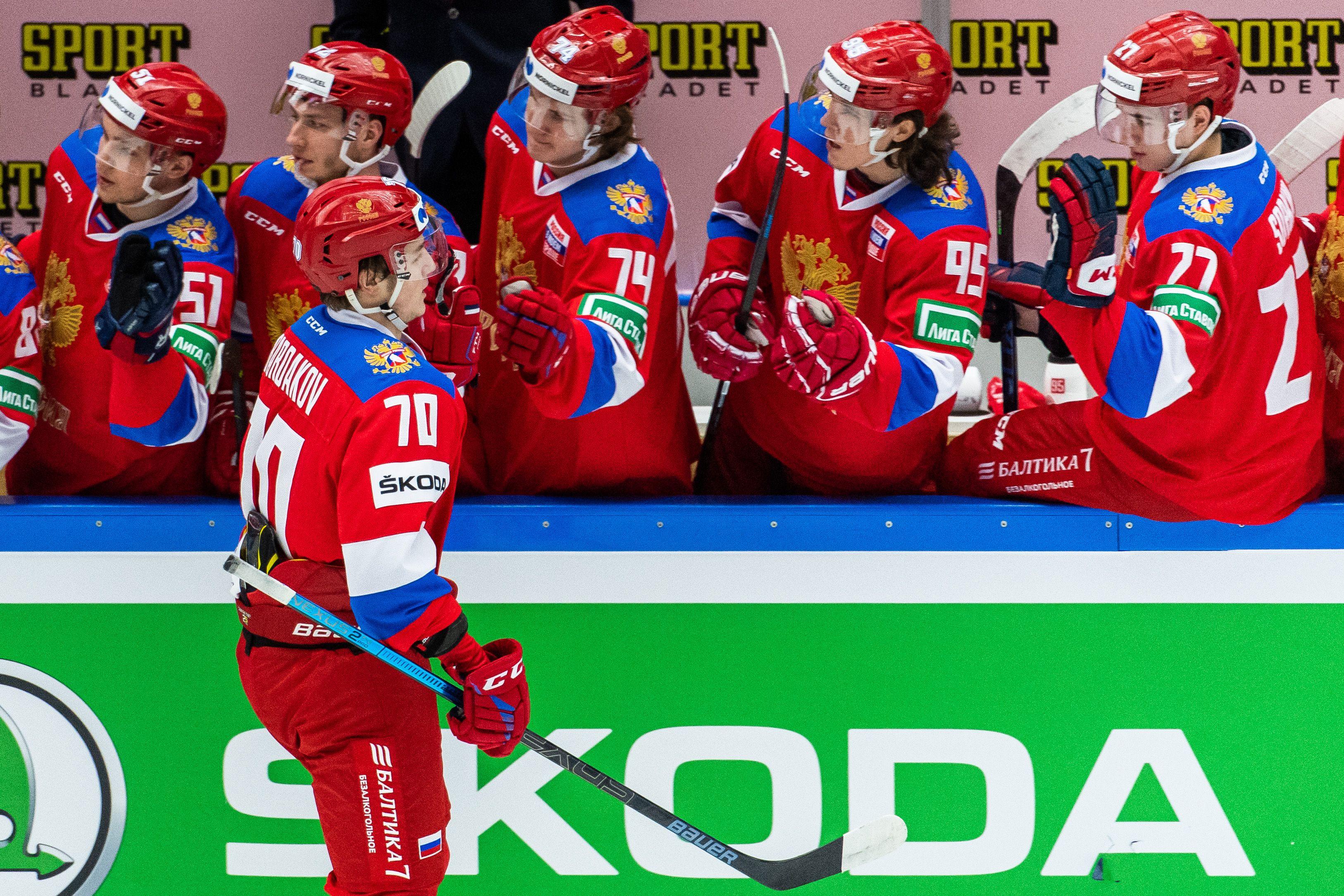 Сборная России по хоккею выступит на ЧМ-2021 под флагом ОКР или ФХР
