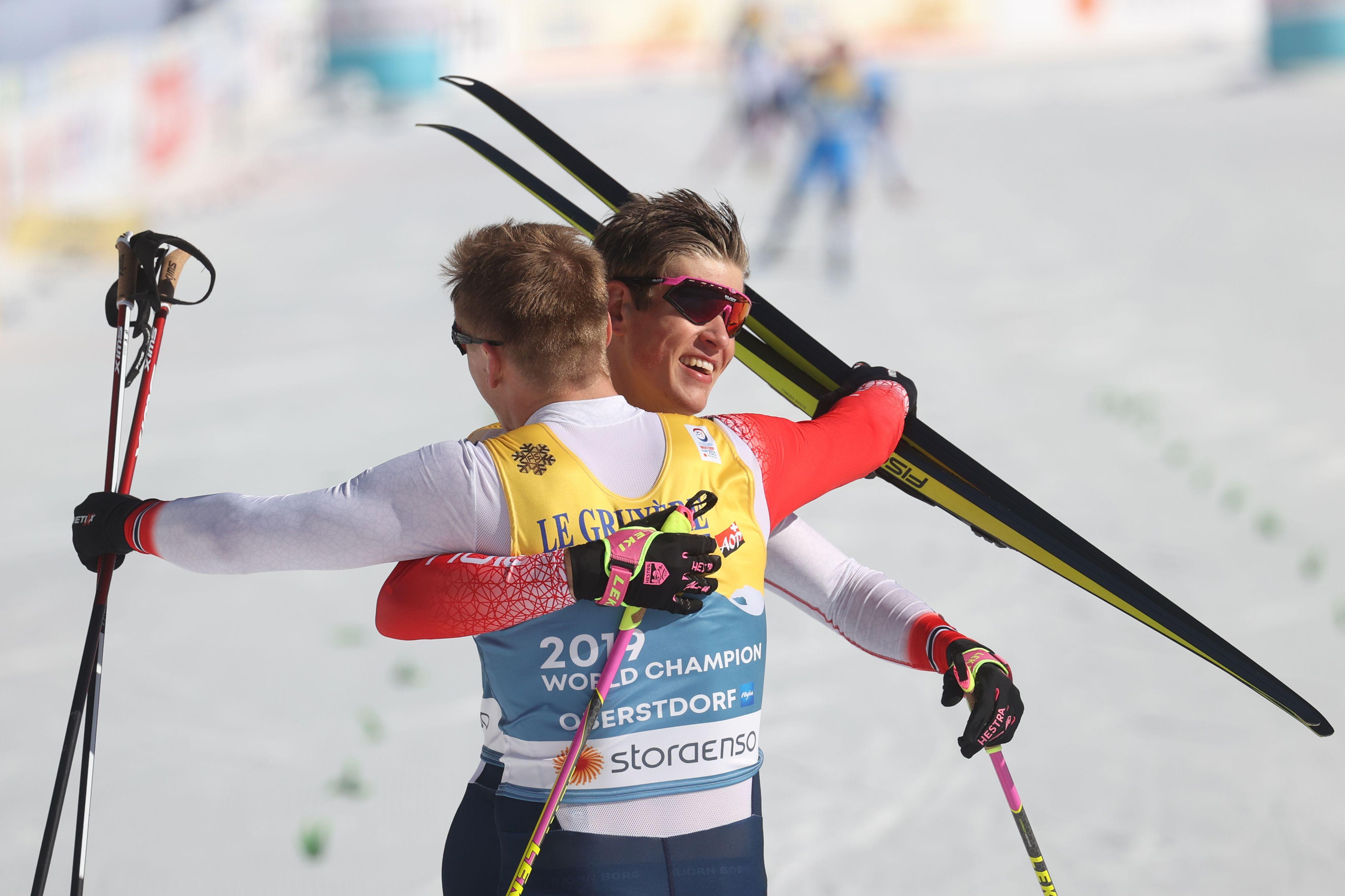 Мужская сборная Норвегии огласила состав на гонку с раздельным стартом на ЧМ