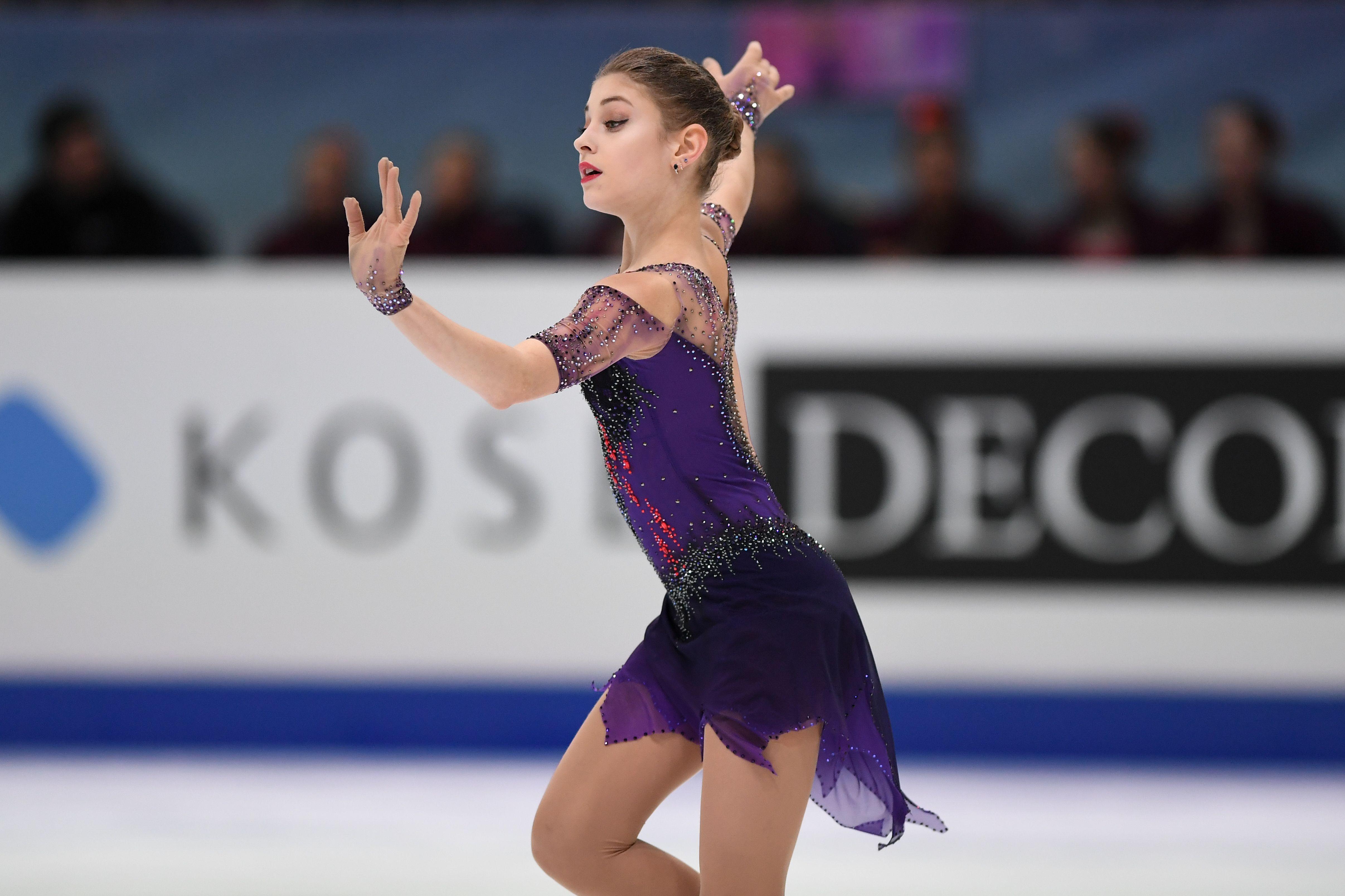 Рудковская отреагировала на слухи о том, что Косторная уйдёт от Плющенко