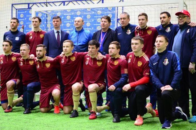 Сборная России победила Францию в квалификации Евро-2022 по мини-футболу