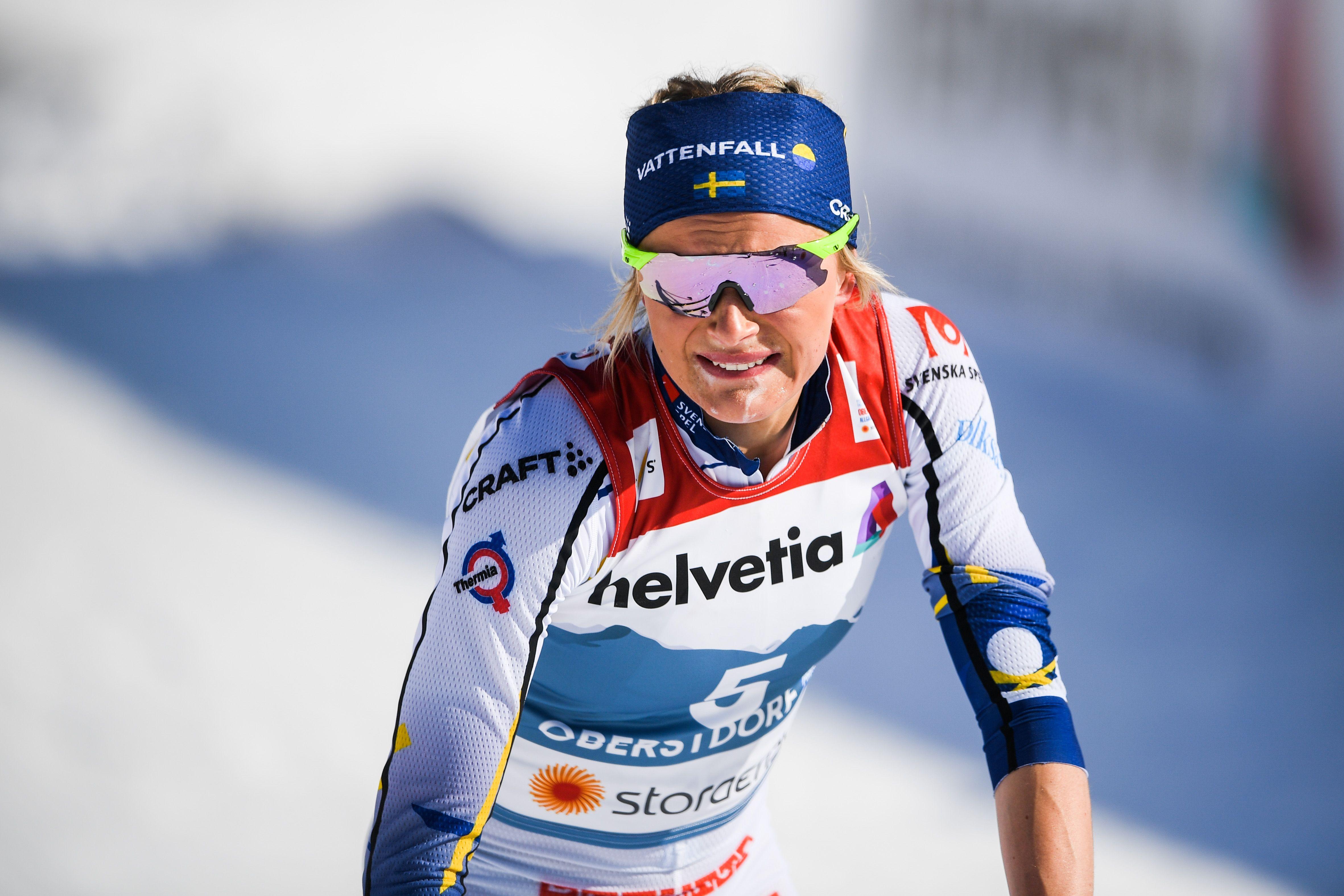 Шведская лыжница попала в больницу после марафона на чемпионате мира