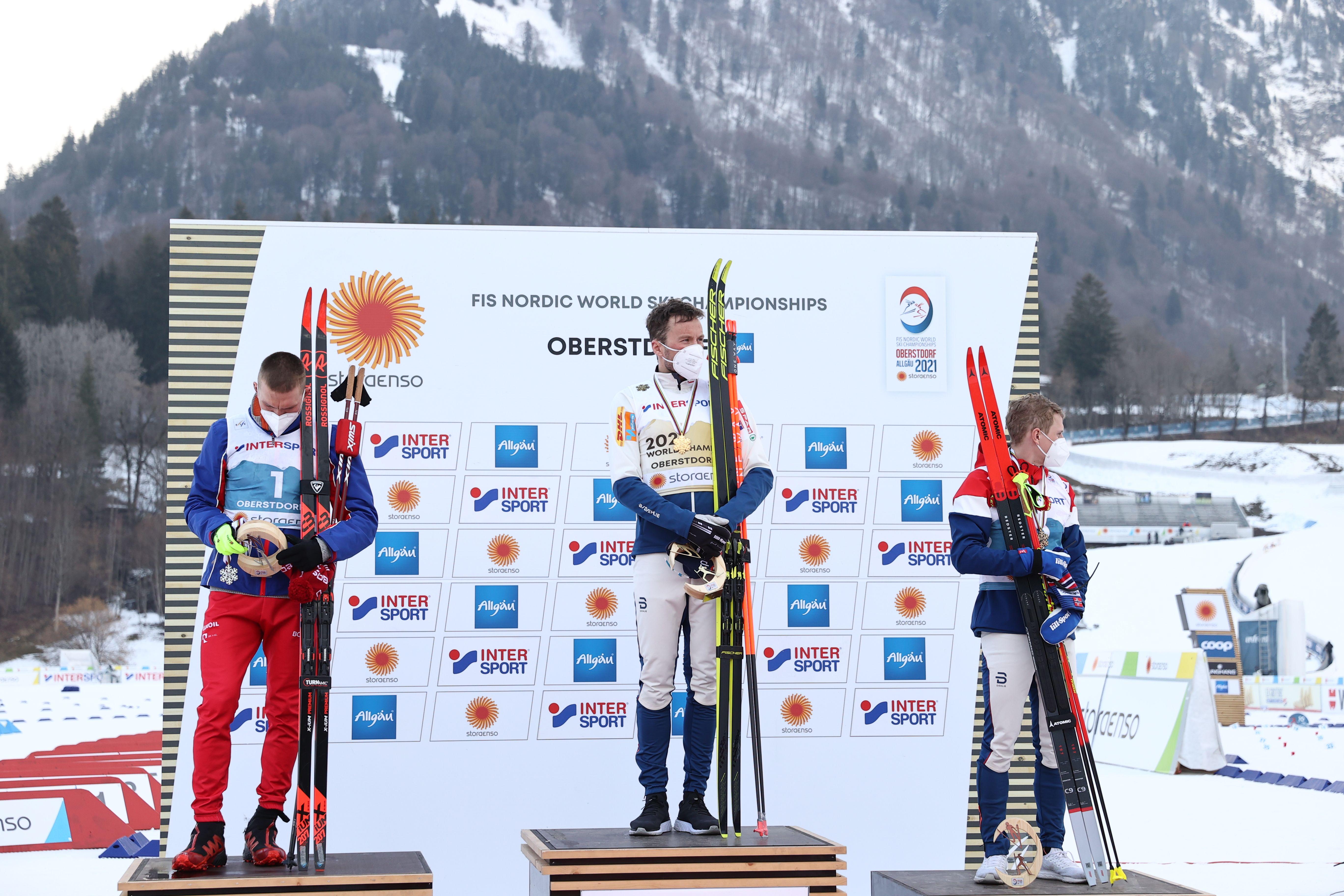 Итоговый медальный зачёт чемпионата мира по лыжным видам спорта