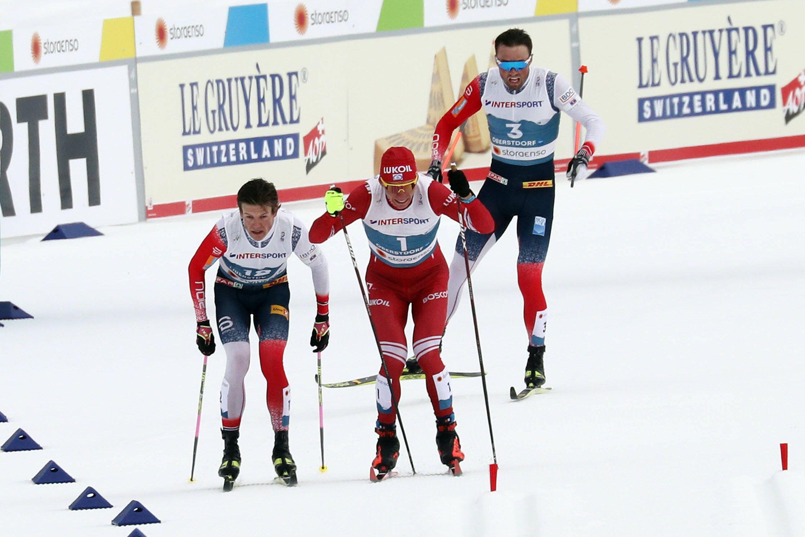 Тренер сборной Норвегии по лыжным гонкам: 'Большунов стремился помешать Клебо, а не выбрать лыжню'