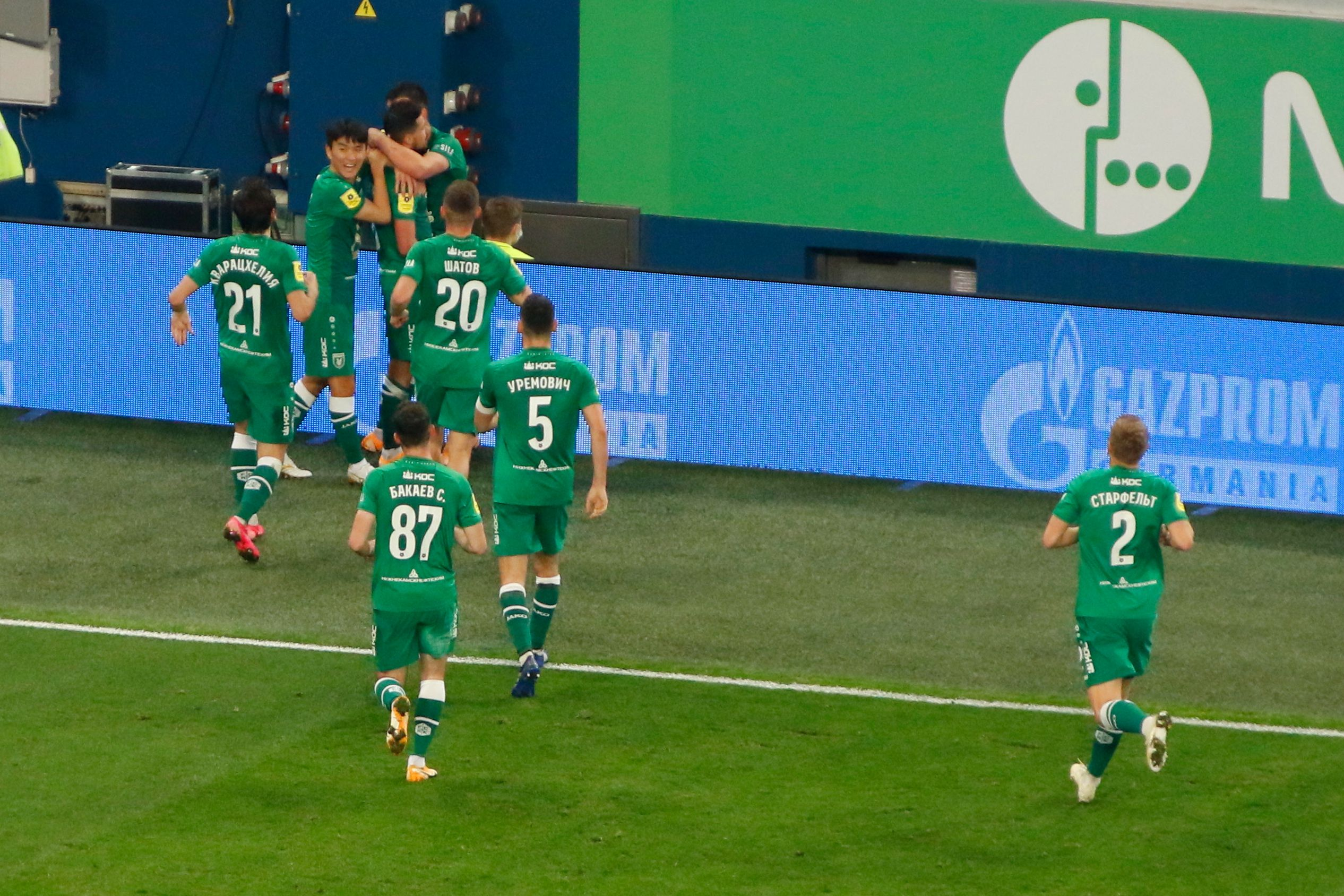 Невероятная развязка с голом на последних минутах и нереализованным пенальти в видеообзоре матча 'Рубин' - 'Зенит'