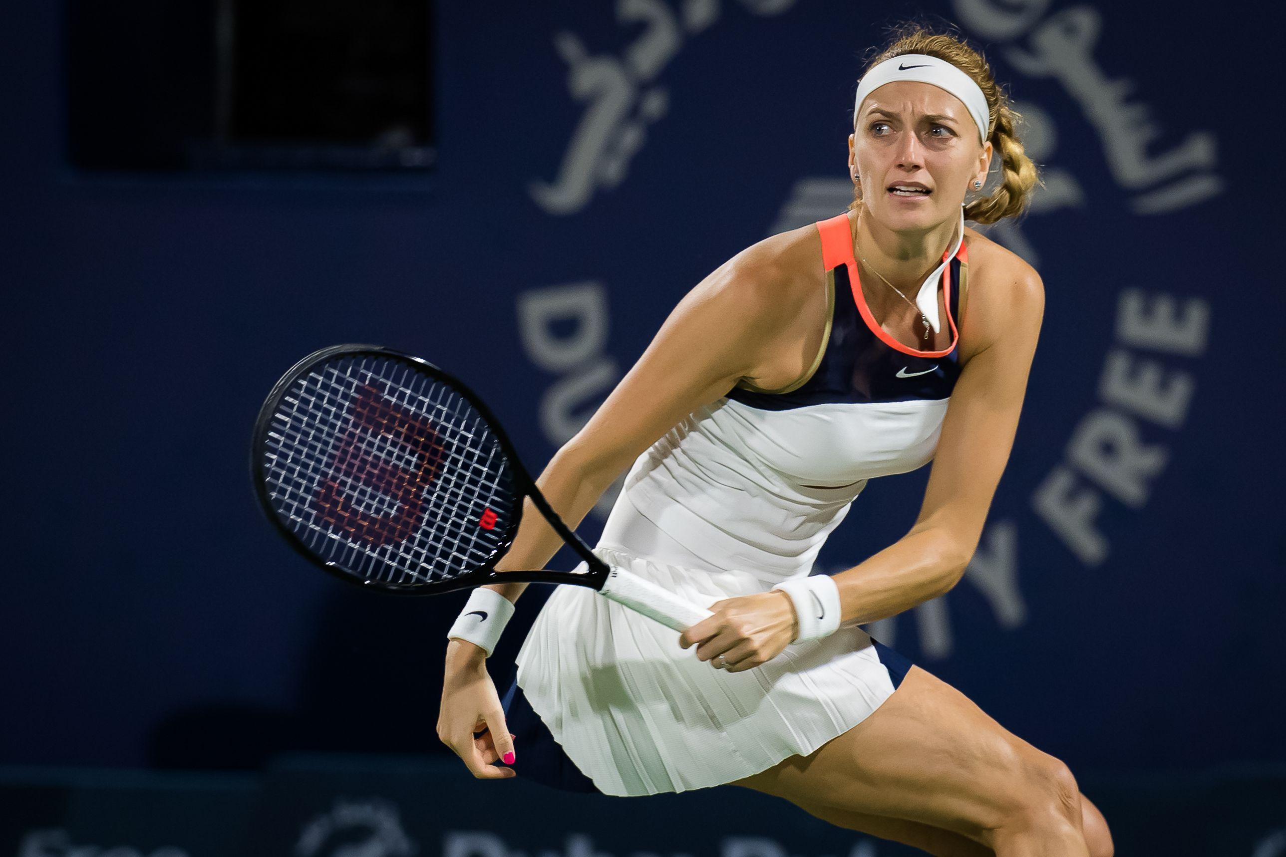 Квитова рассказала, почему снялась с турнира в Дубае