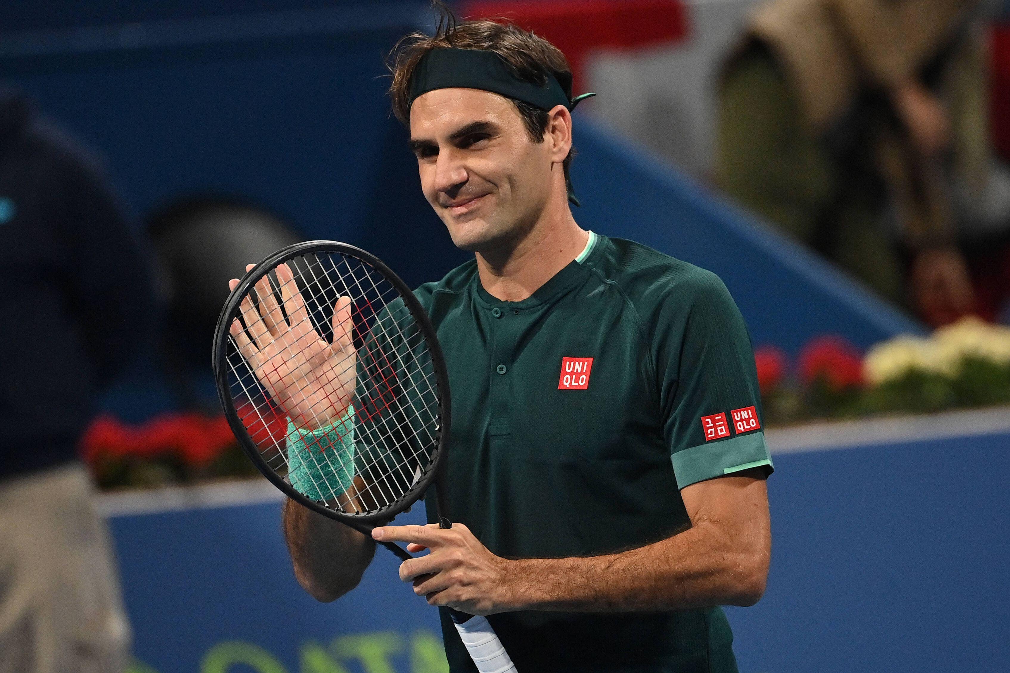 Басилашвили эмоционально отреагировал на волевую победу над Федерером на турнире в Дохе