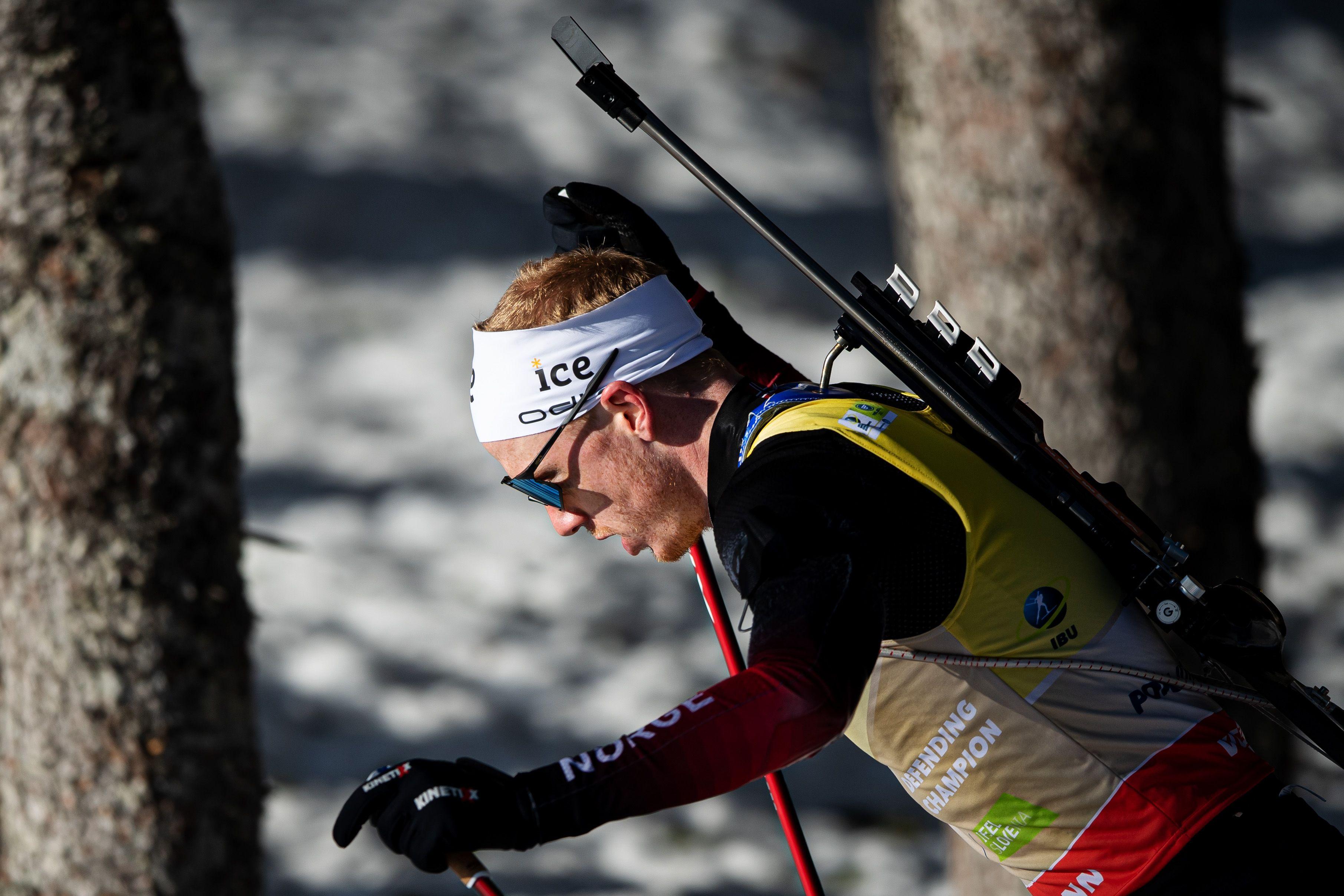 Йоханнес Бё выиграл 'Малый хрустальный глобус' в зачёте спринтов Кубка мира