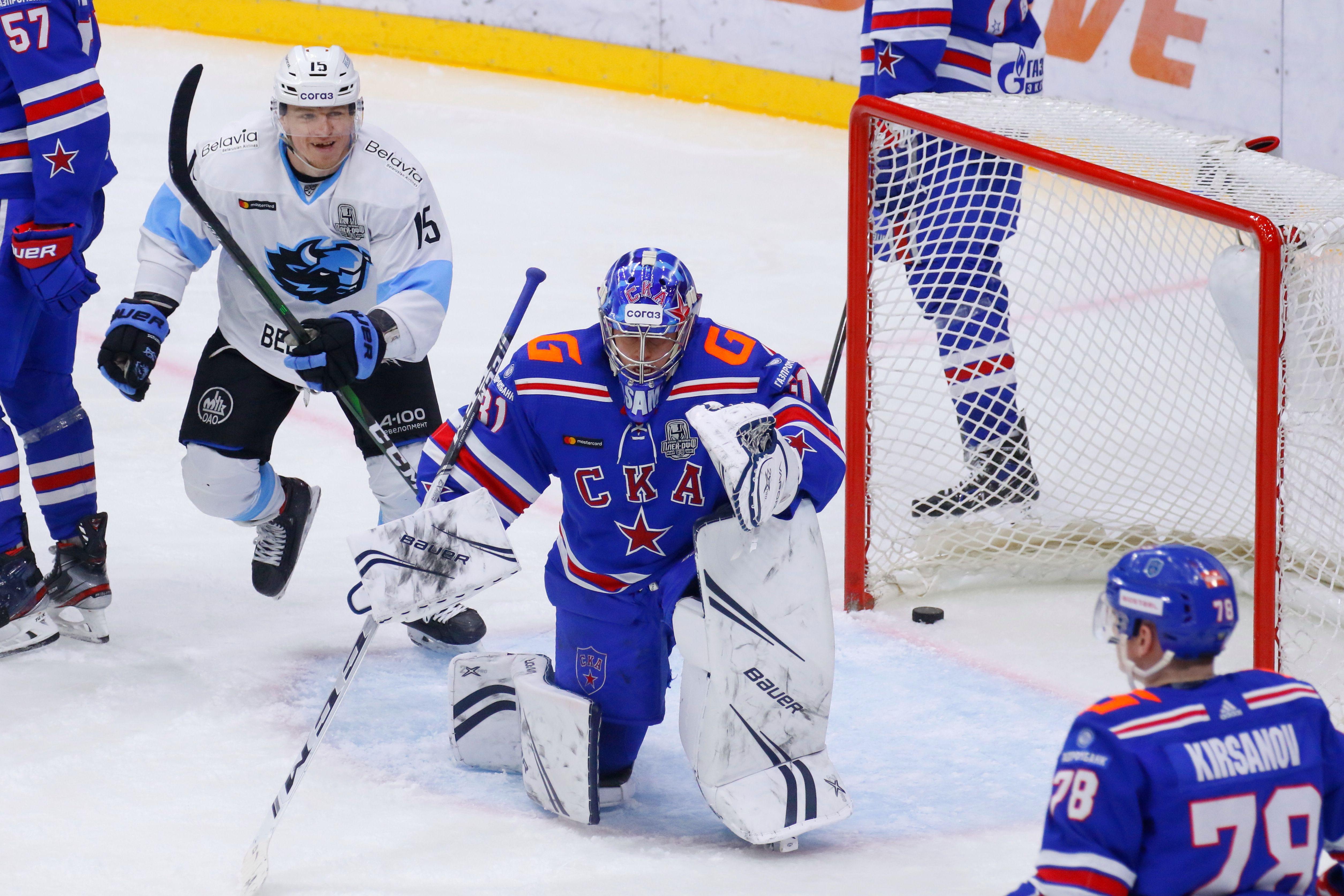 Стали известны все пары второго раунда плей-офф Кубка Гагарина