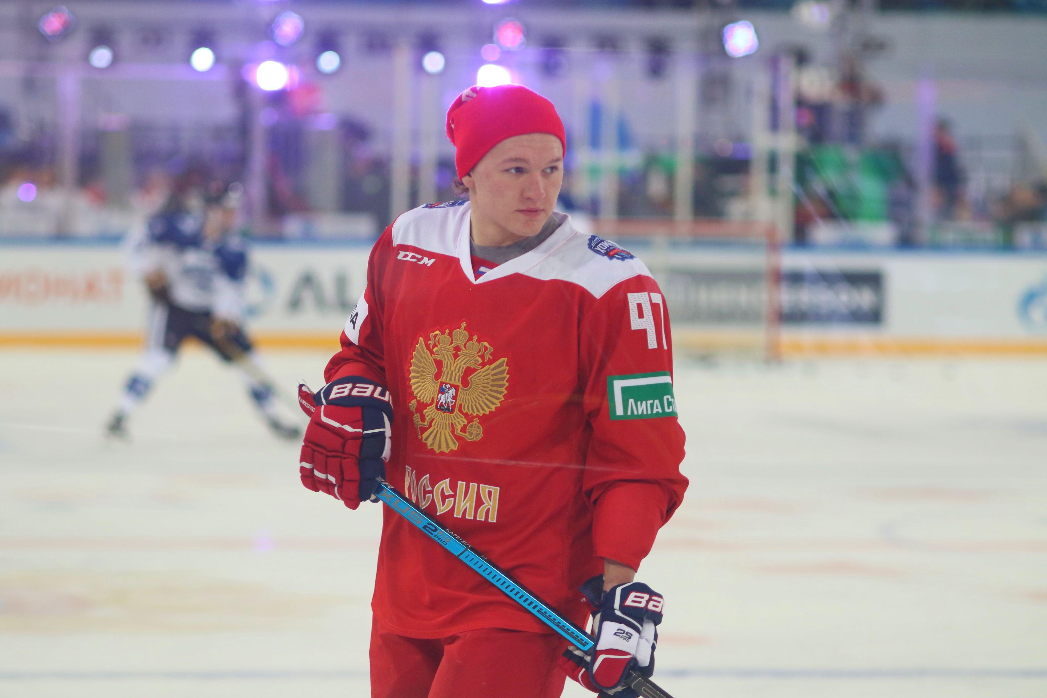 Капризов оформил первый хет-трик в НХЛ. Видео