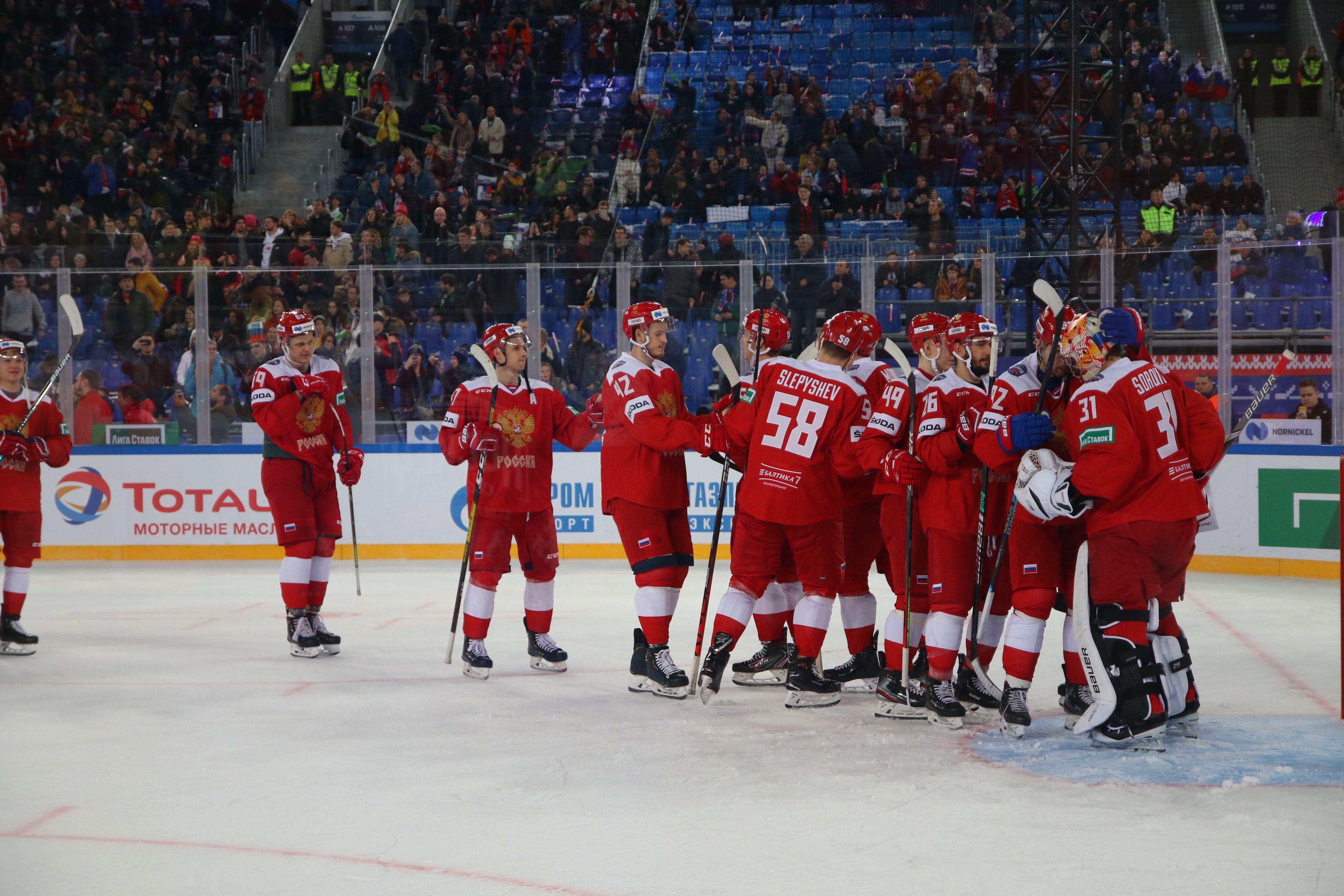 Сборная России по хоккею выступит на ЧМ под флагом ОКР