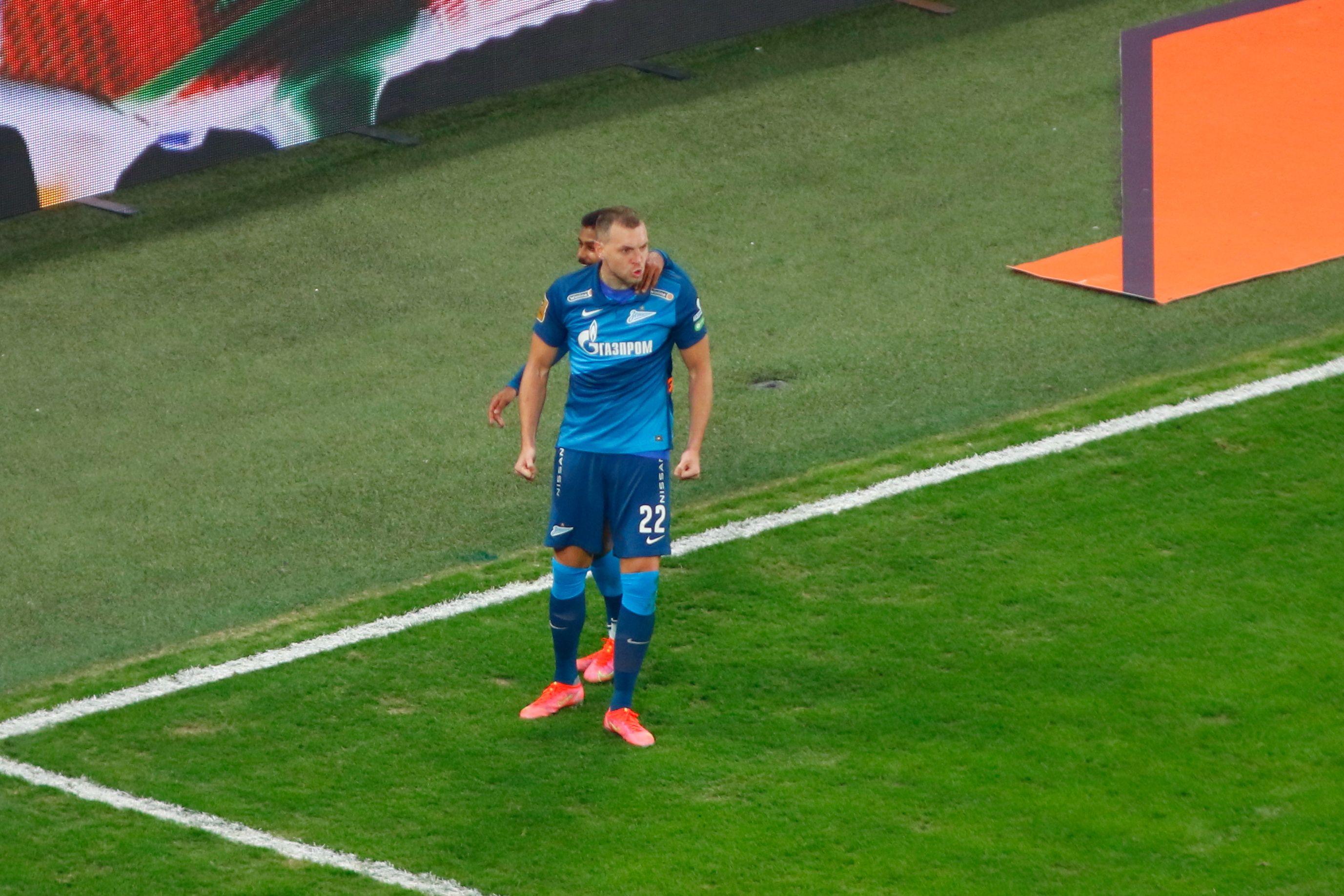Семак рассказал, почему Дзюба исполнял пенальти в матче против ЦСКА