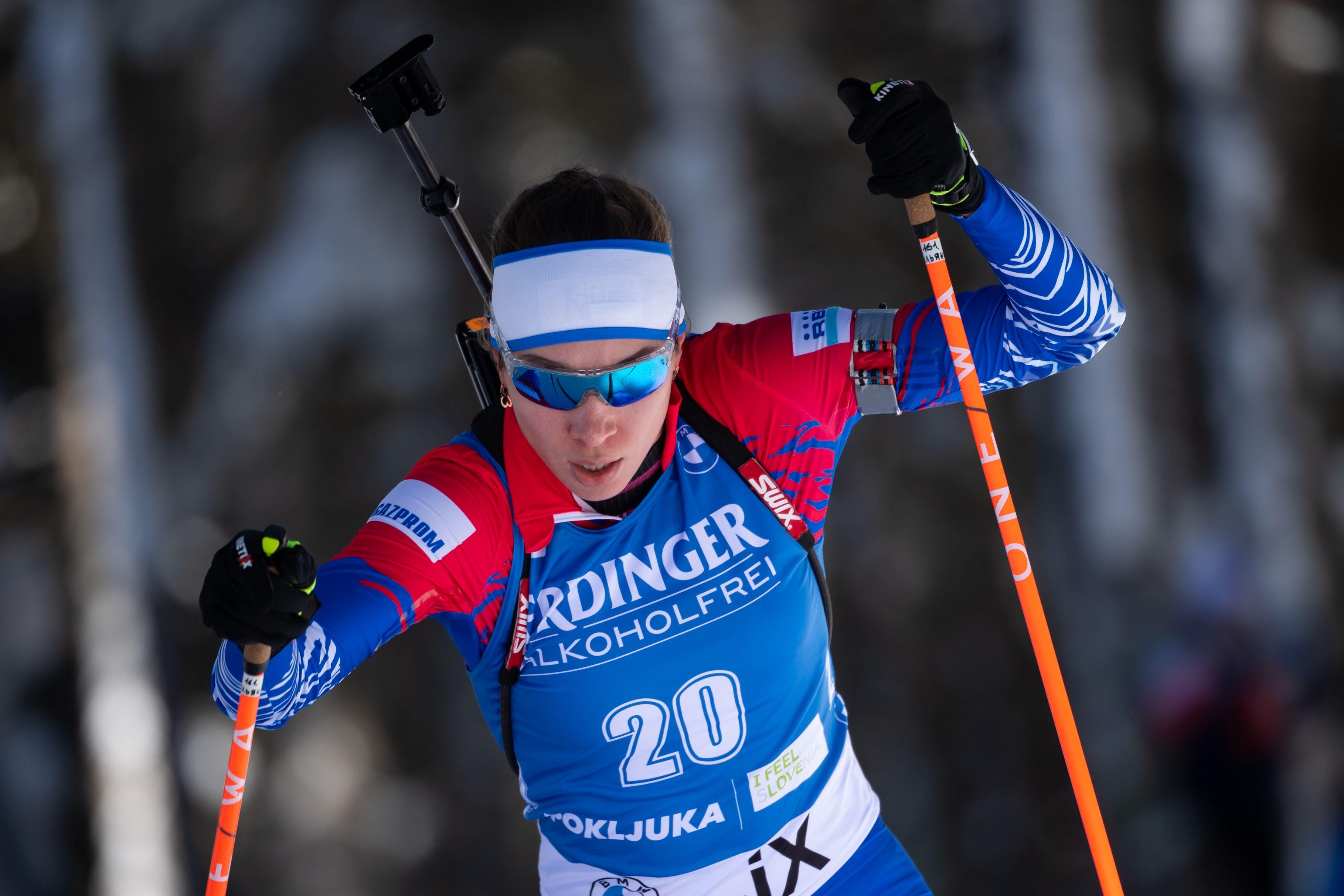 Кайшева показала лучший результат в карьере, став пятой в масс-старте на этапе КМ в Эстерсунде
